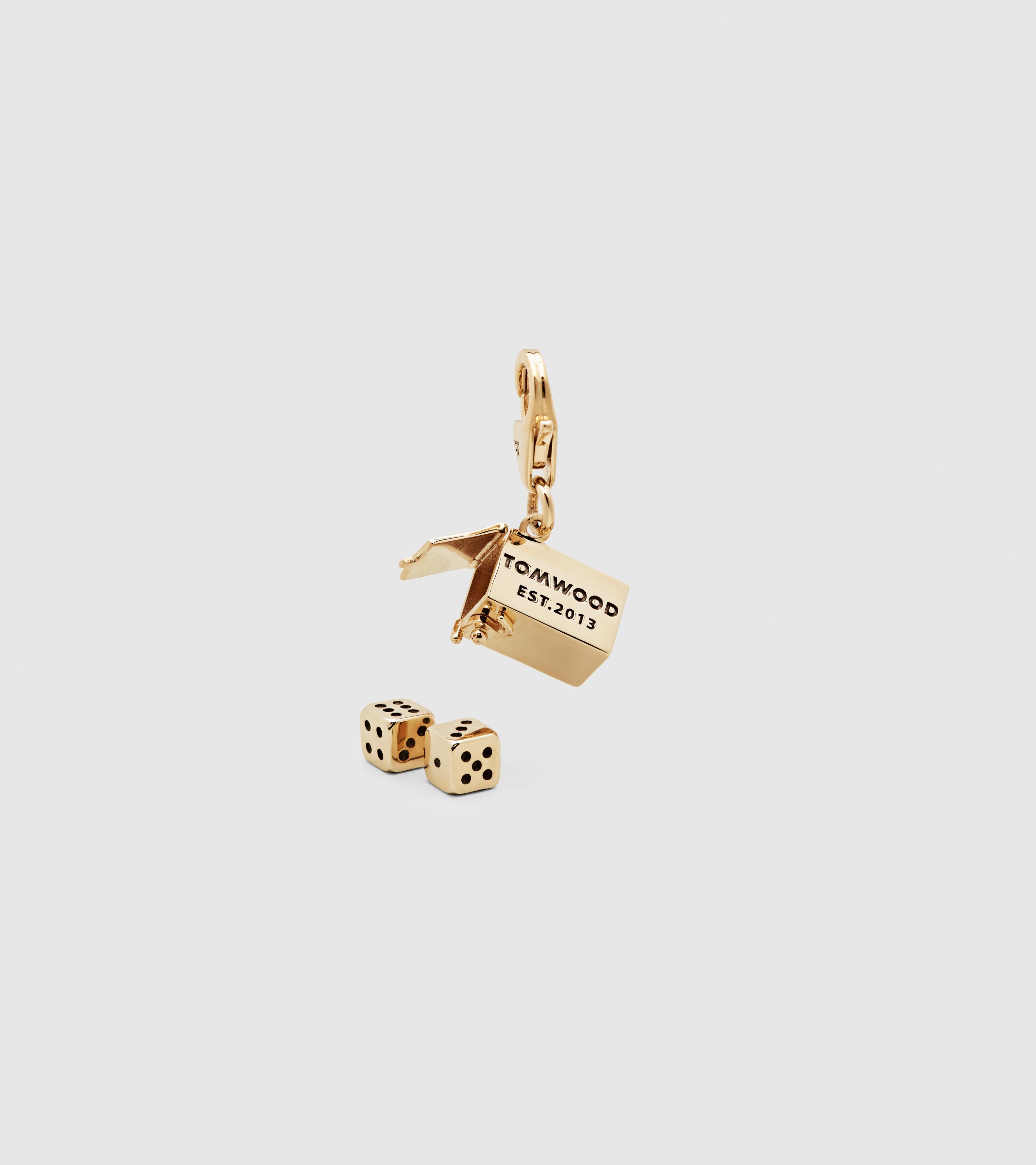 Box Charm Large Gold