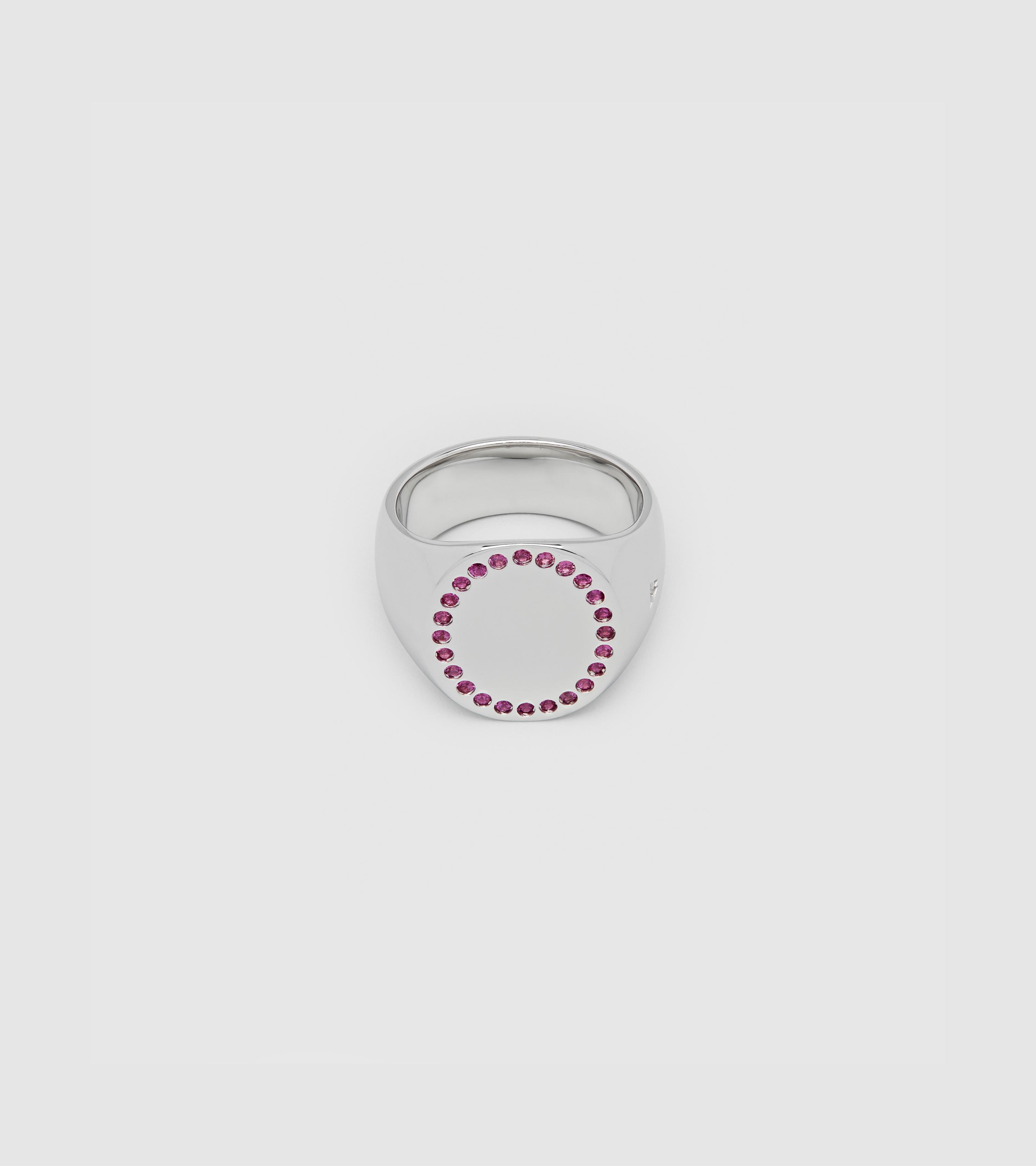 Circle Ring Ruby