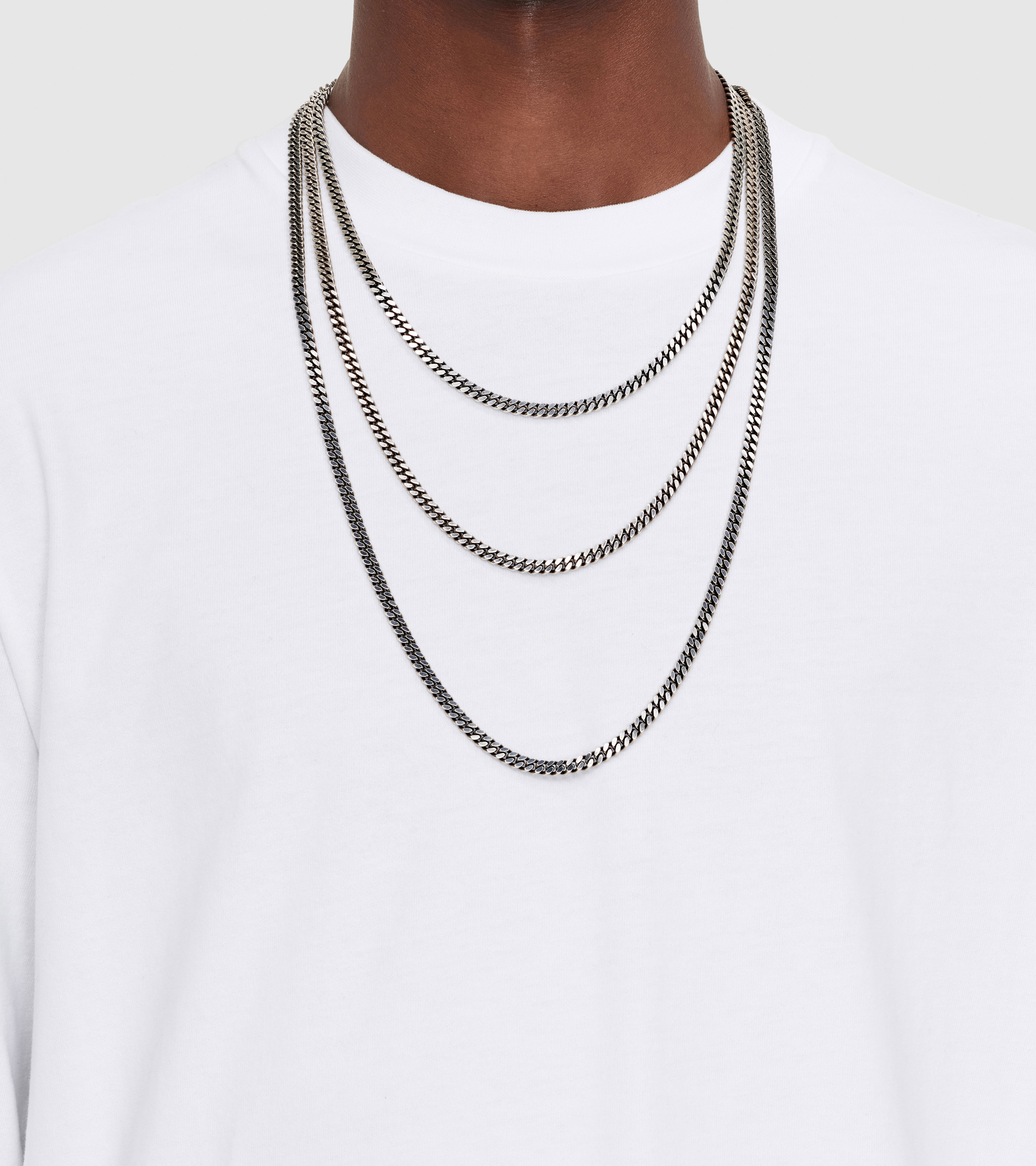 Curb Chain L Black
