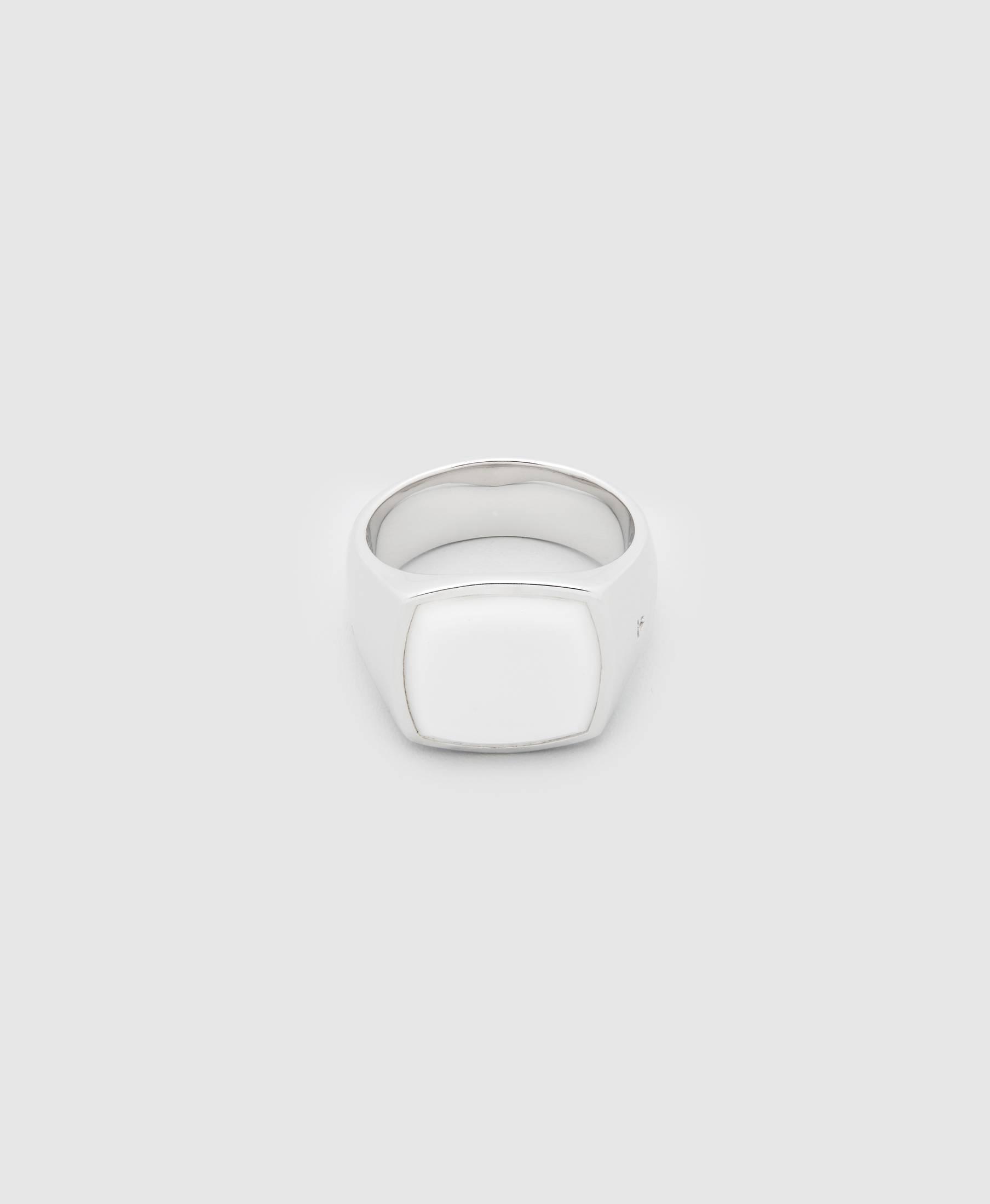 Cushion White Agate