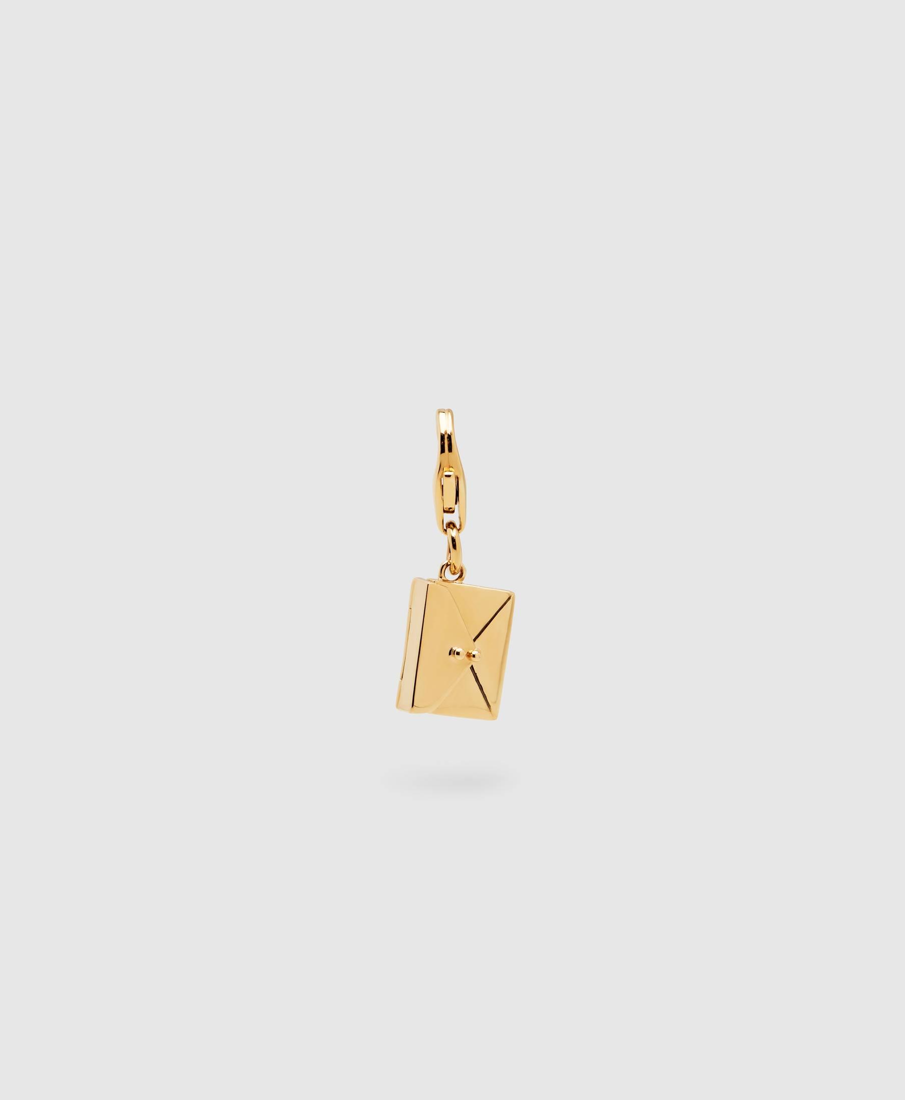 Envelope Charm Gold