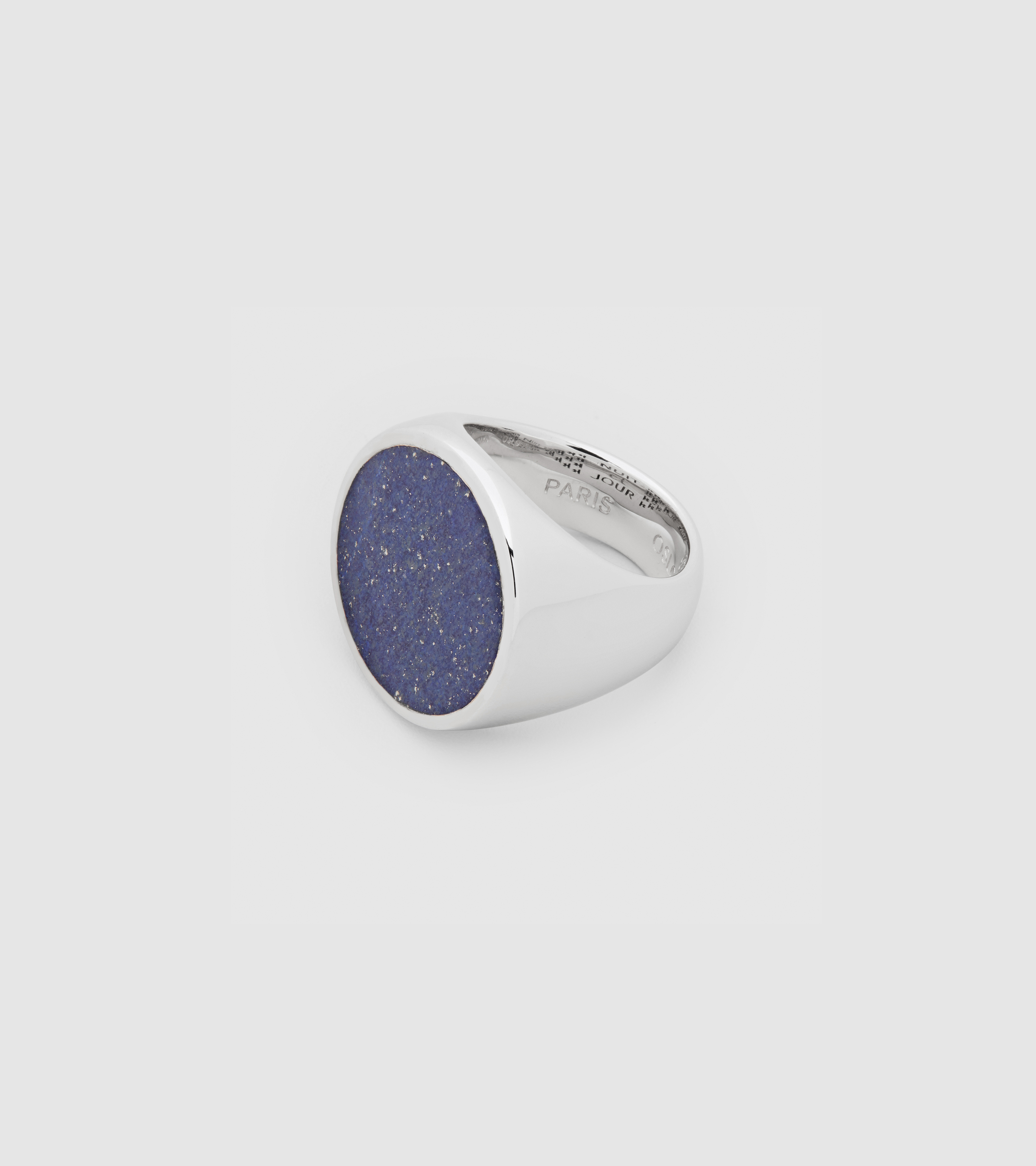 Flush Blue Lapis Circle