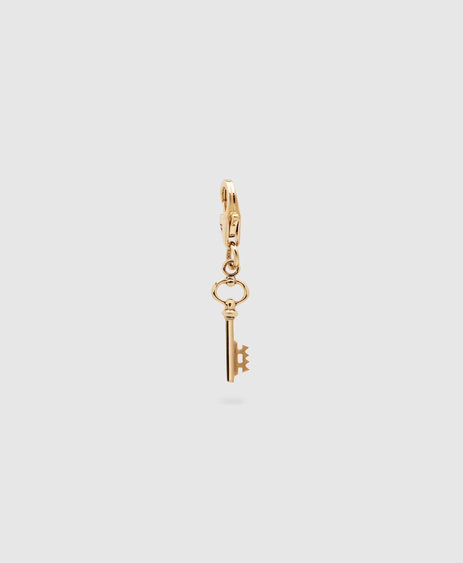 Key Charm Gold
