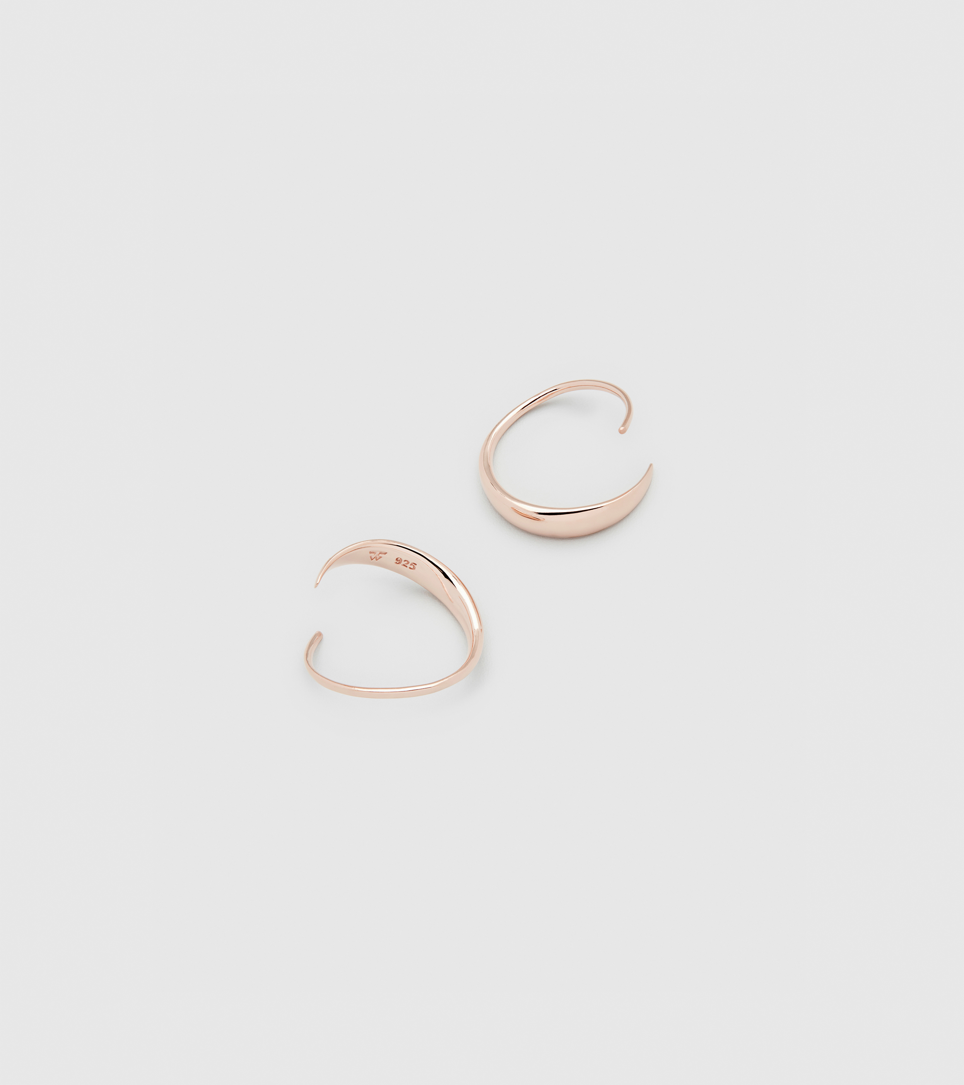 Mini Ear Loops Rose Gold