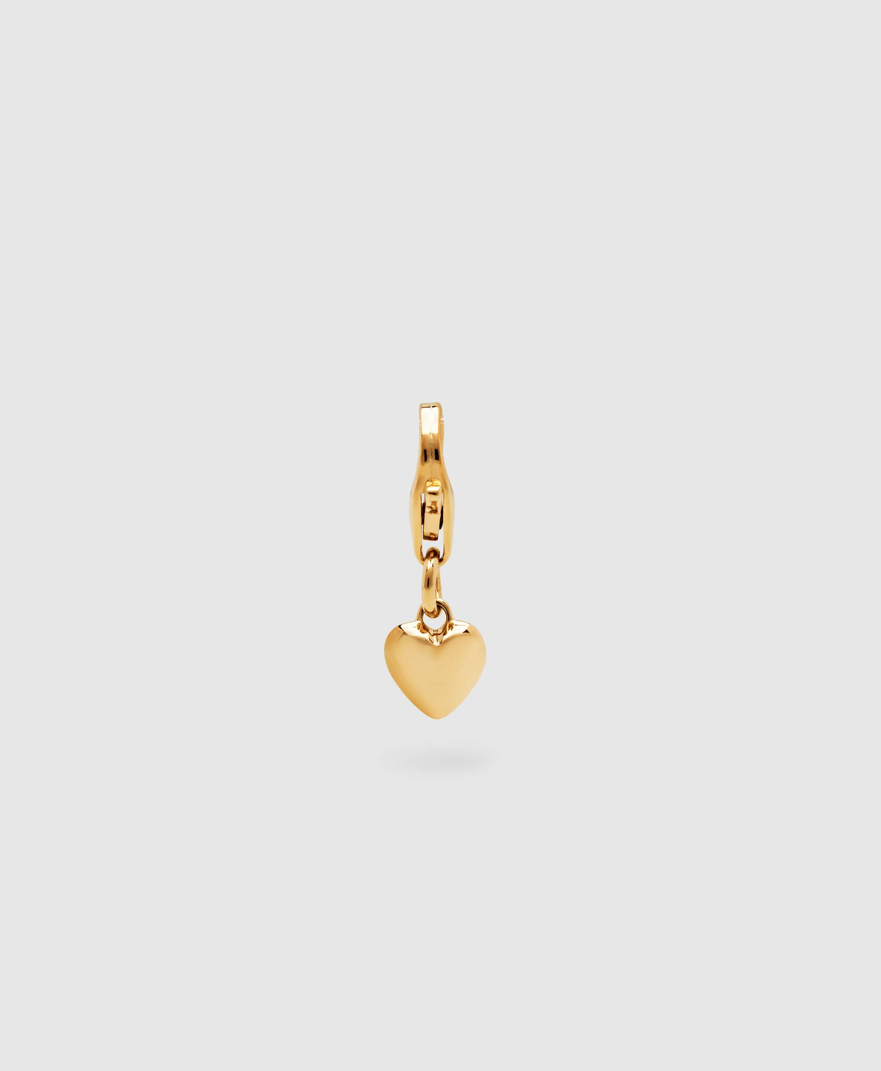 Mini Heart Charm Gold