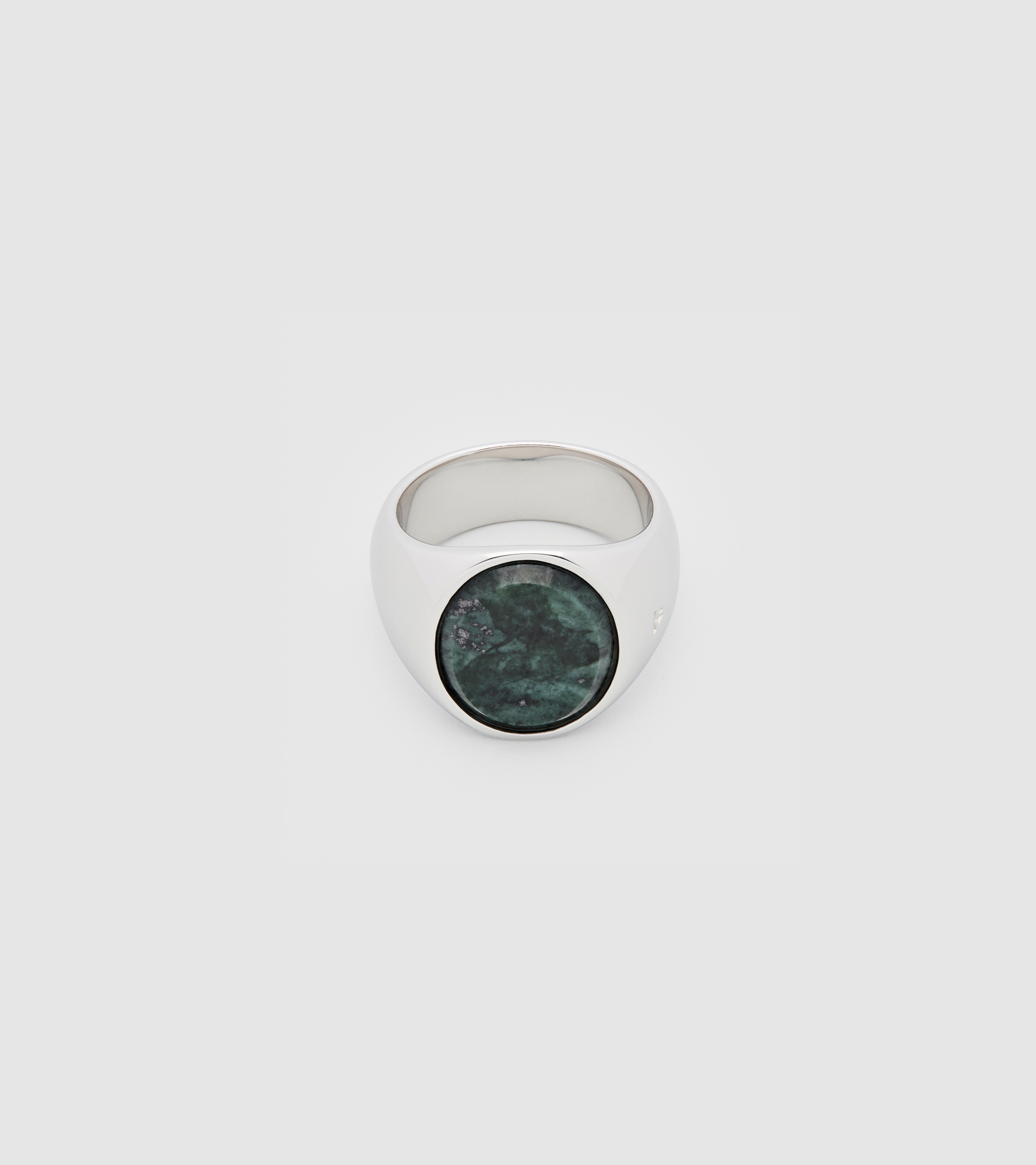Oval Green Marble