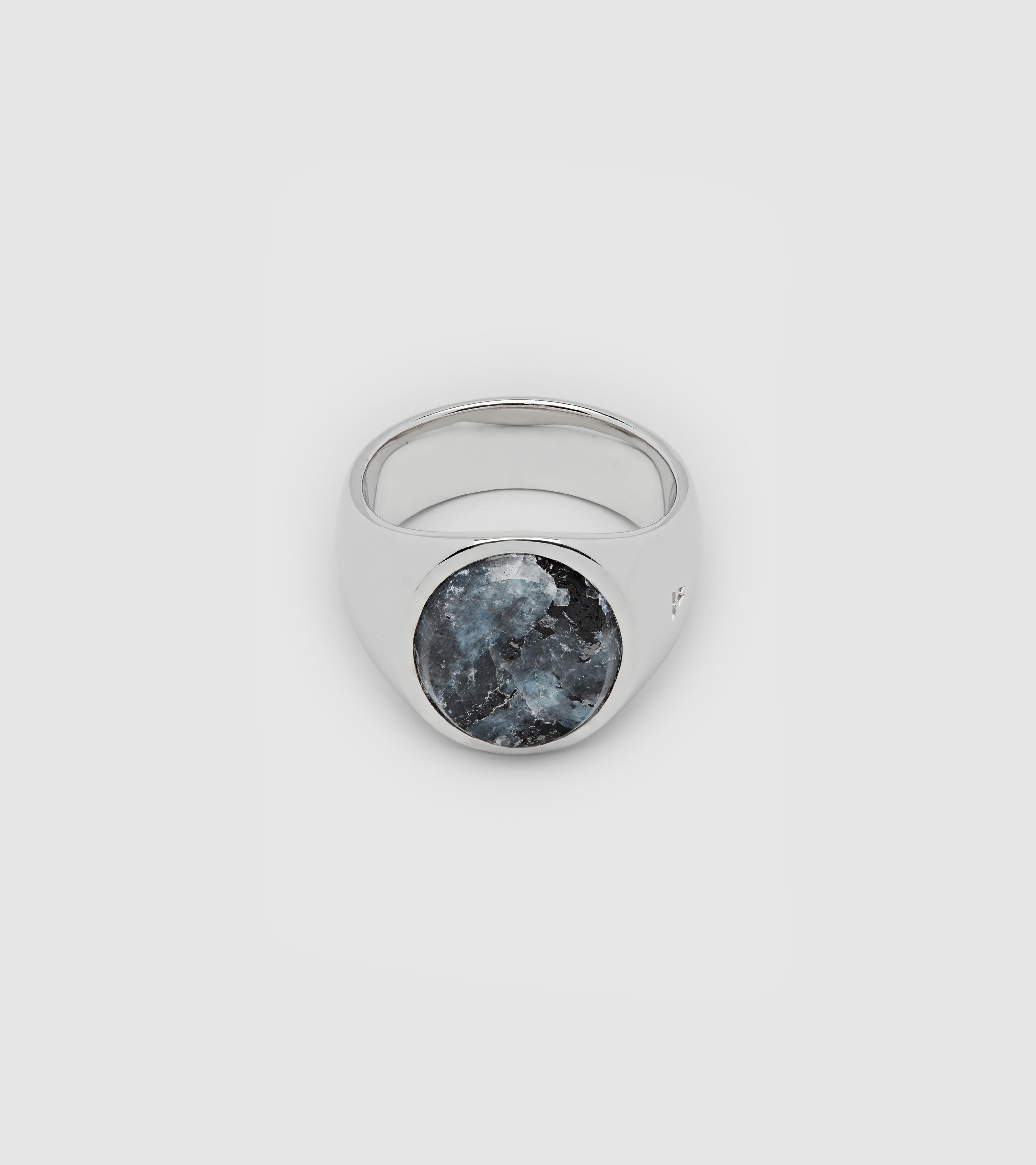 Oval Larvikite