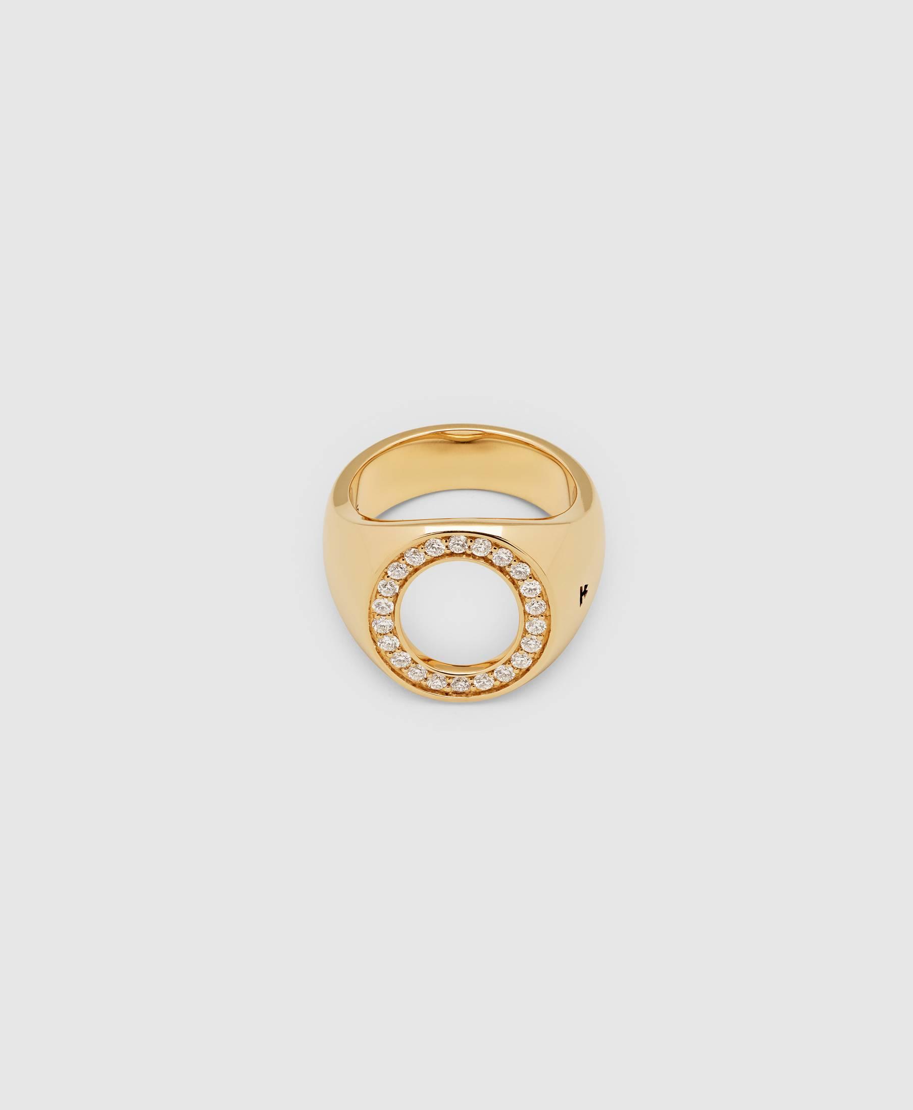 Oval Open Diamond
