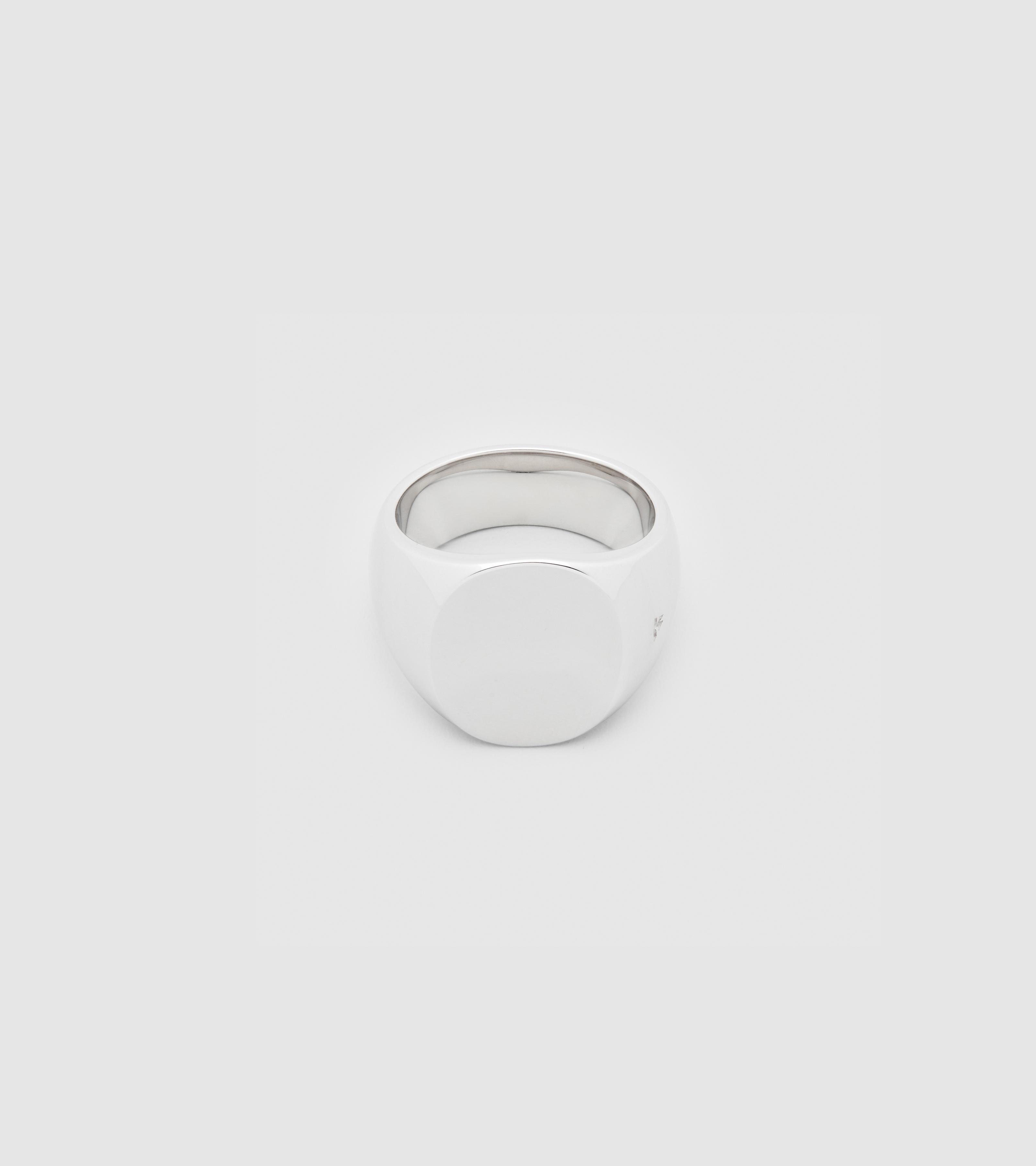 Oval Polished