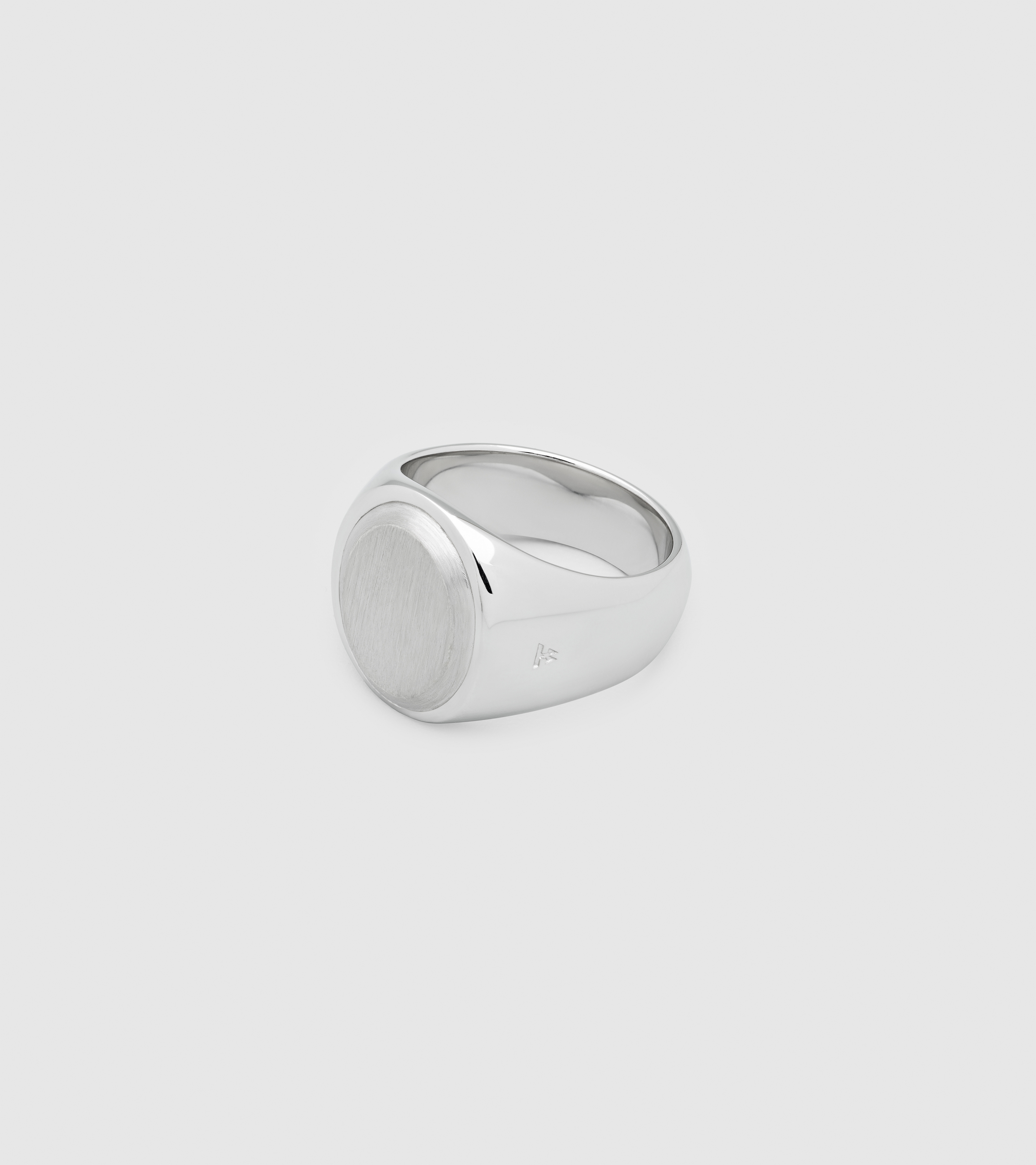 Oval Silver Top