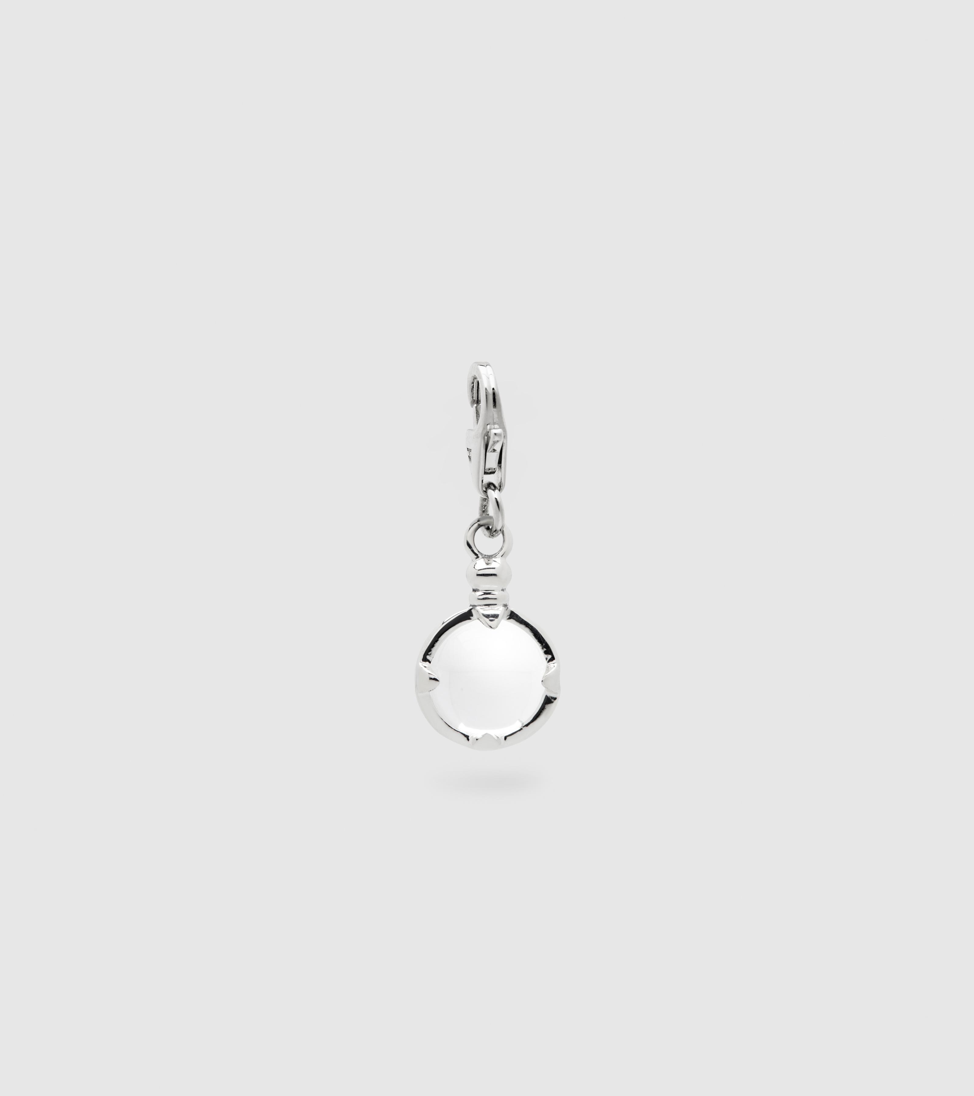 Snowball Crystal Charm