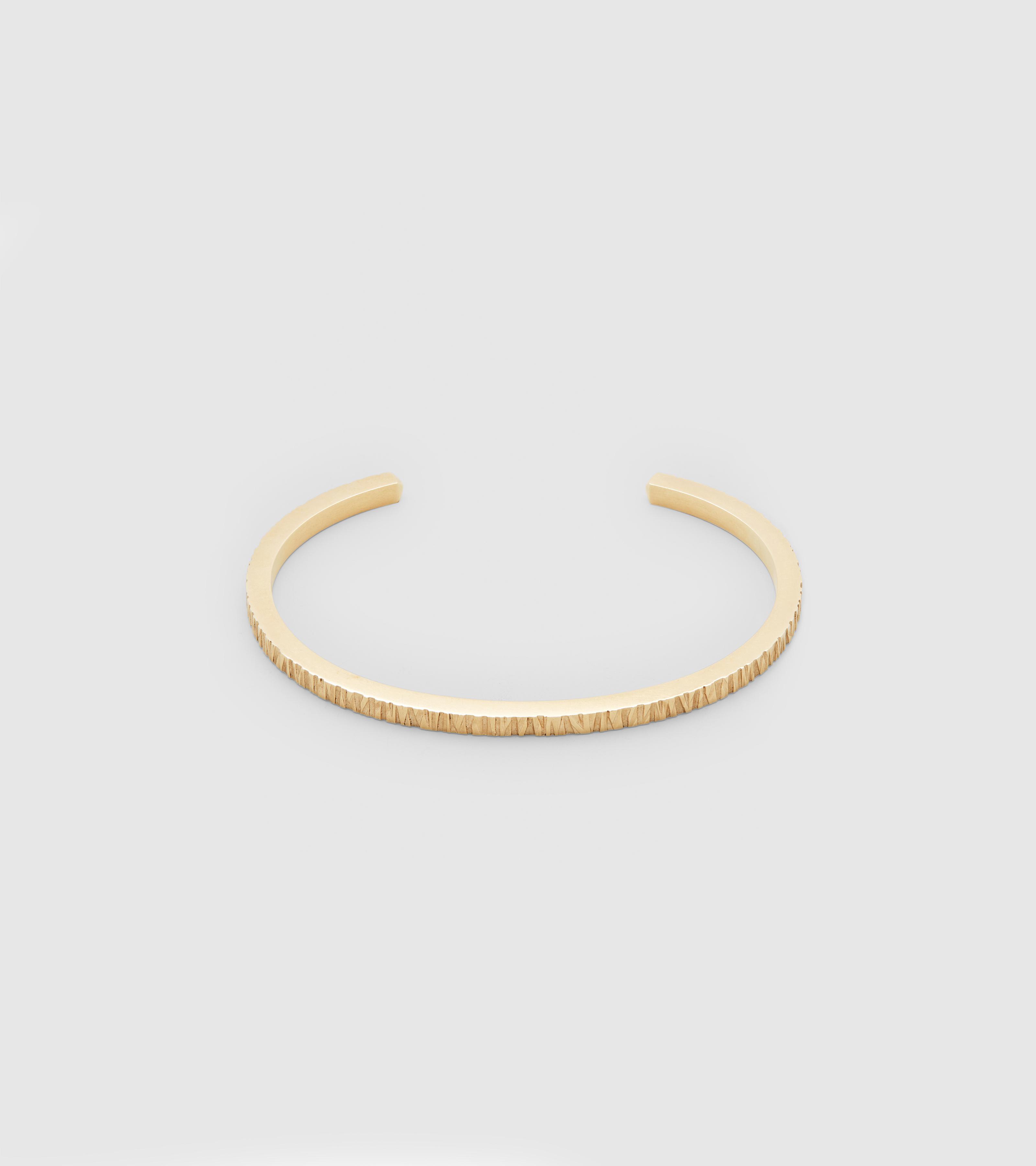Structure Cuff Gold