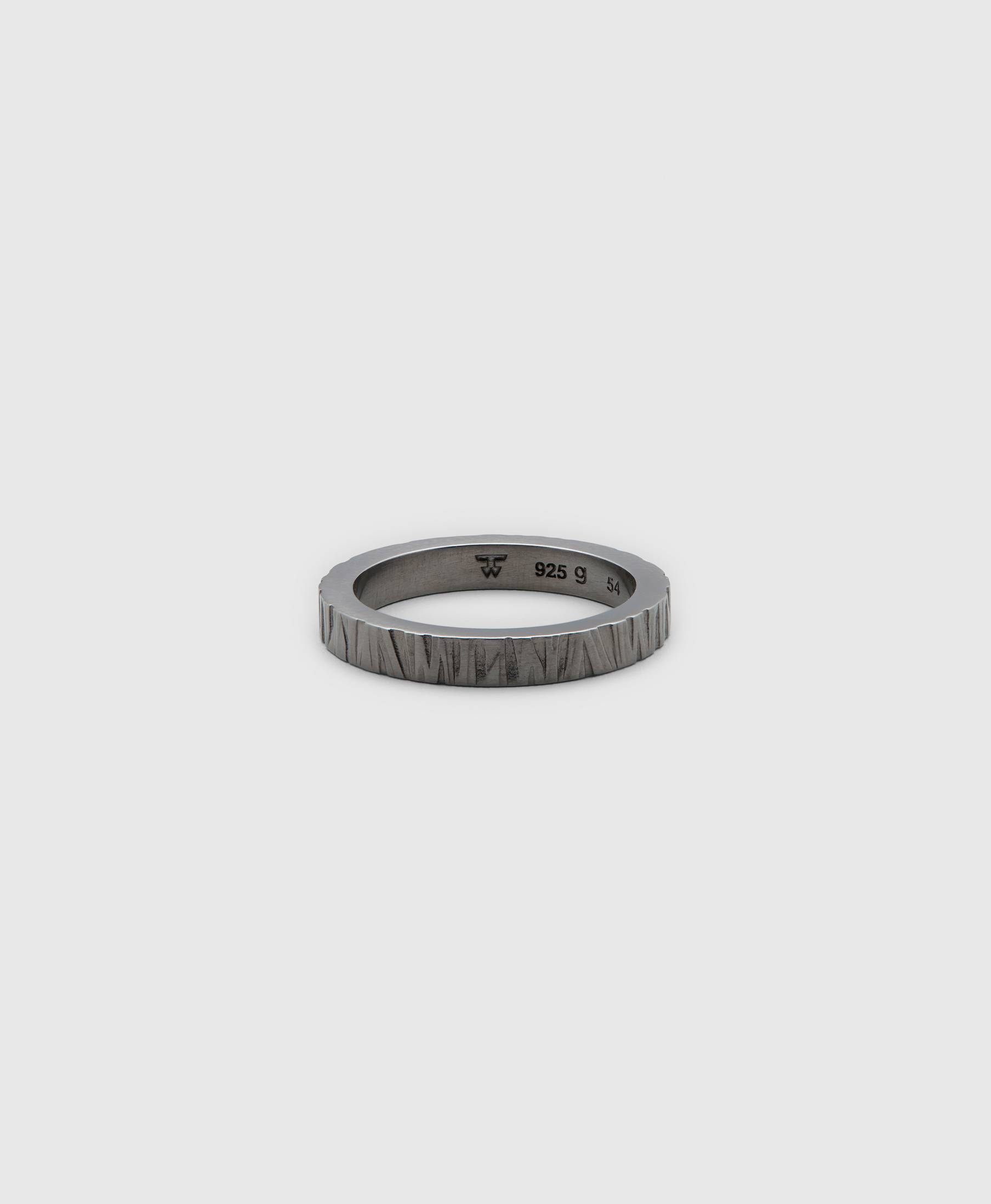 Structure Ring Black