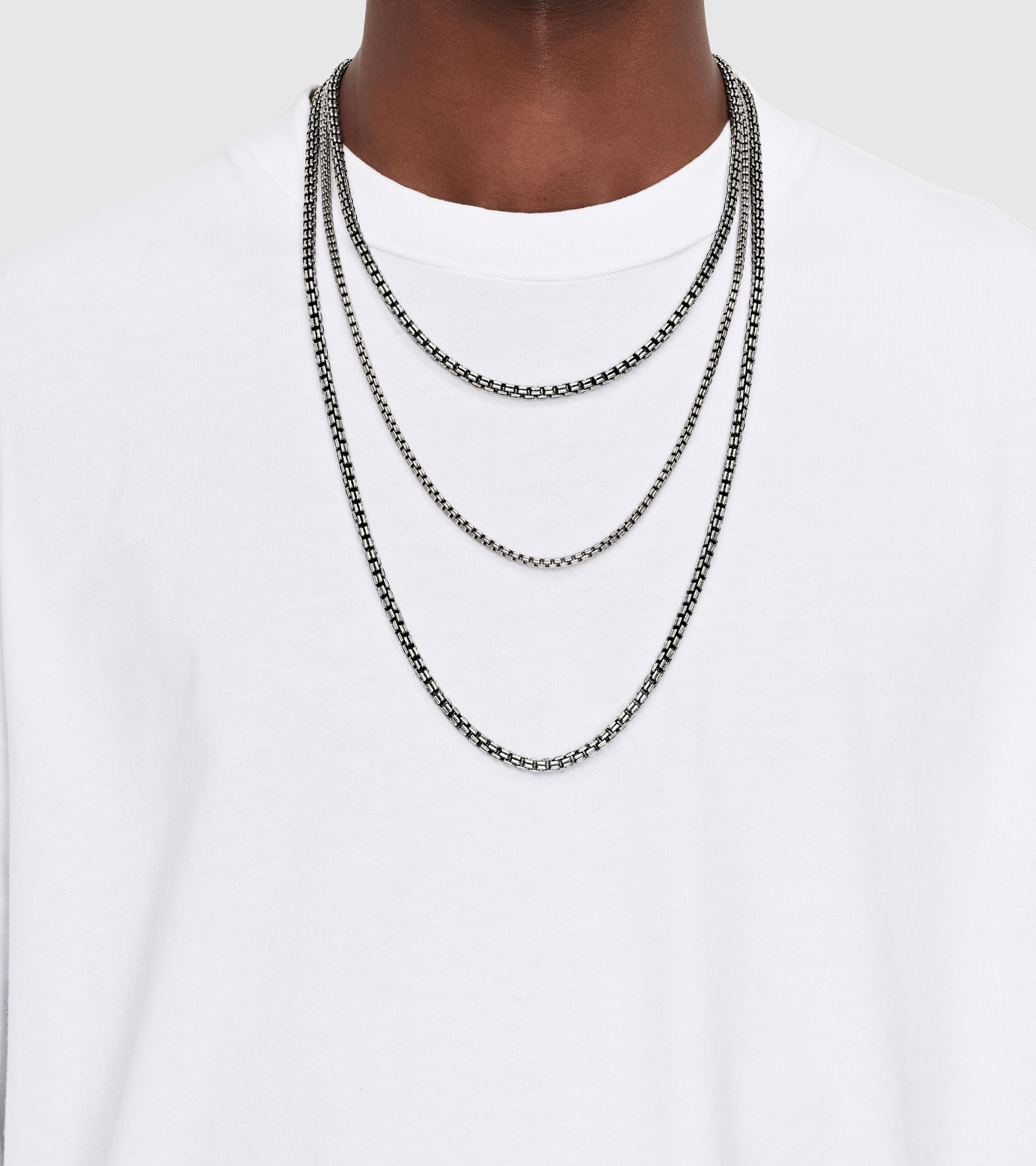 Venetian Chain Double M Black