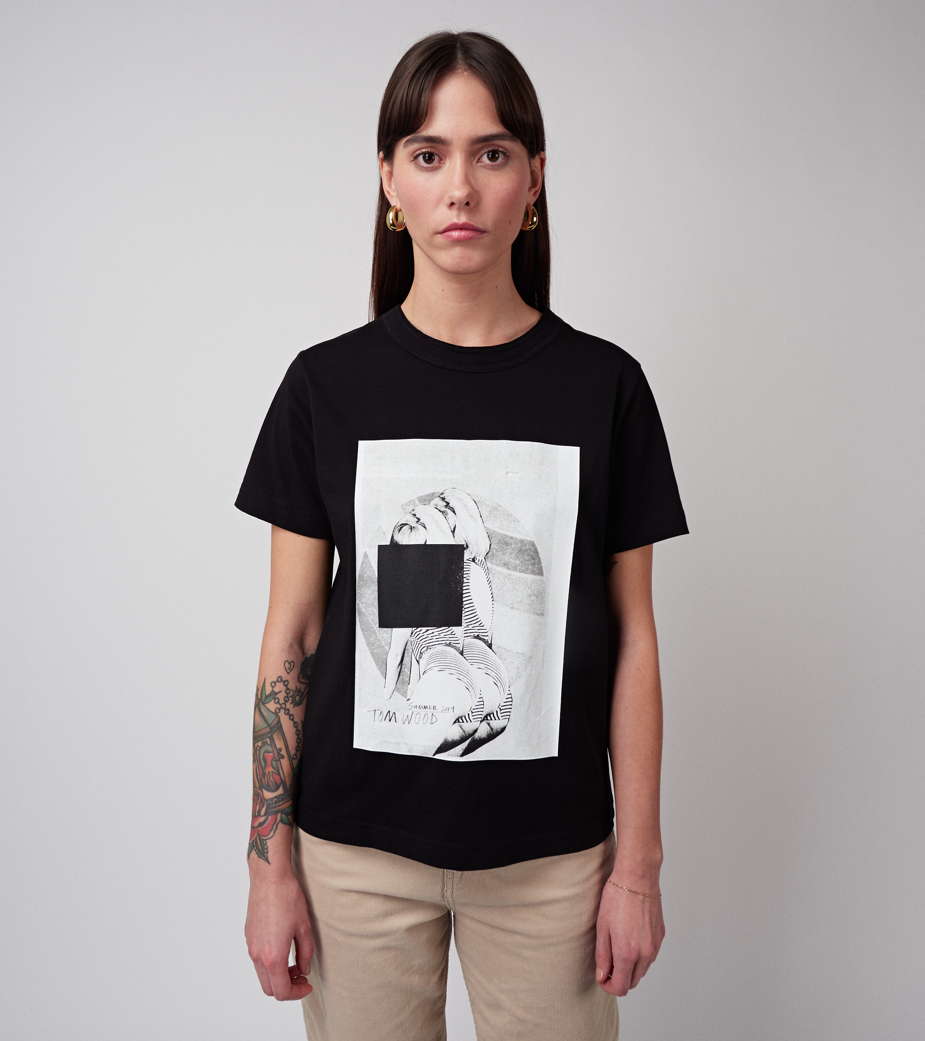 Beach Sue Tee Black