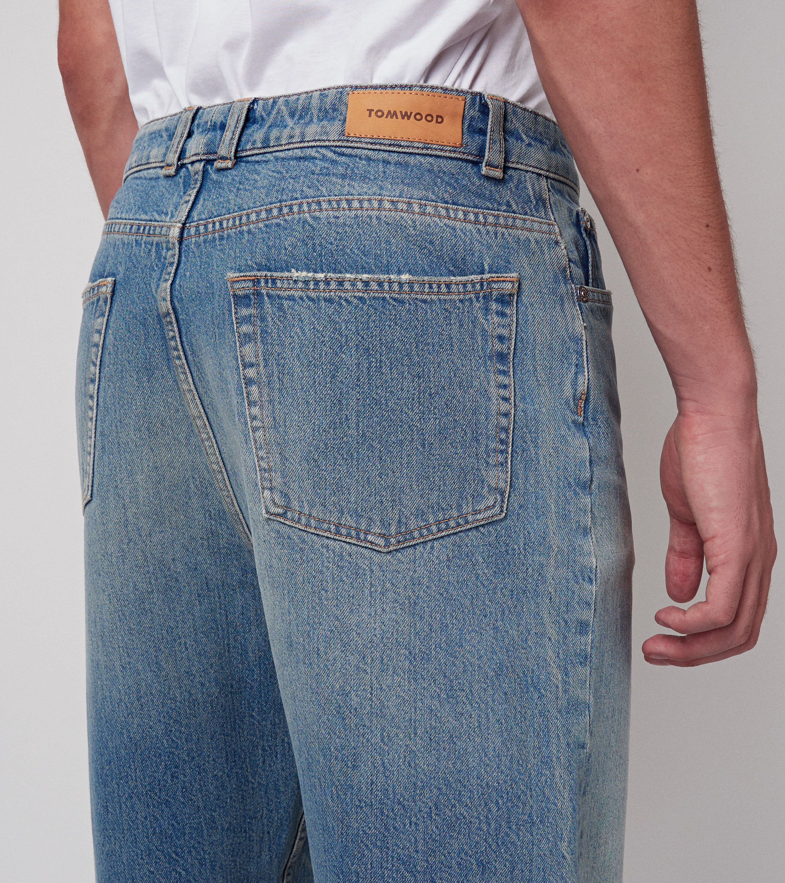 Carrot Shady Selvedge 100% Cotton