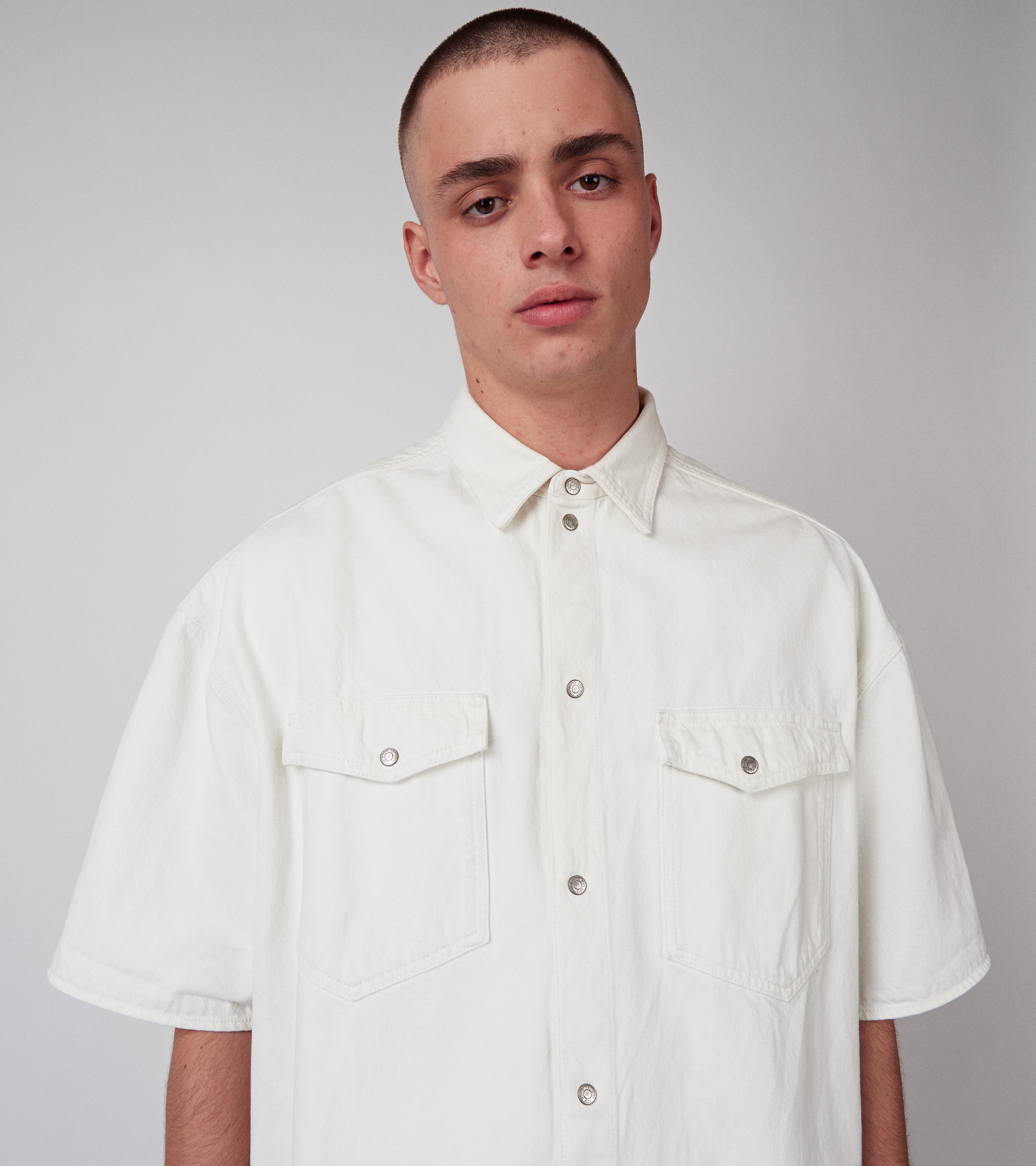 Dean Shirt Vintage White