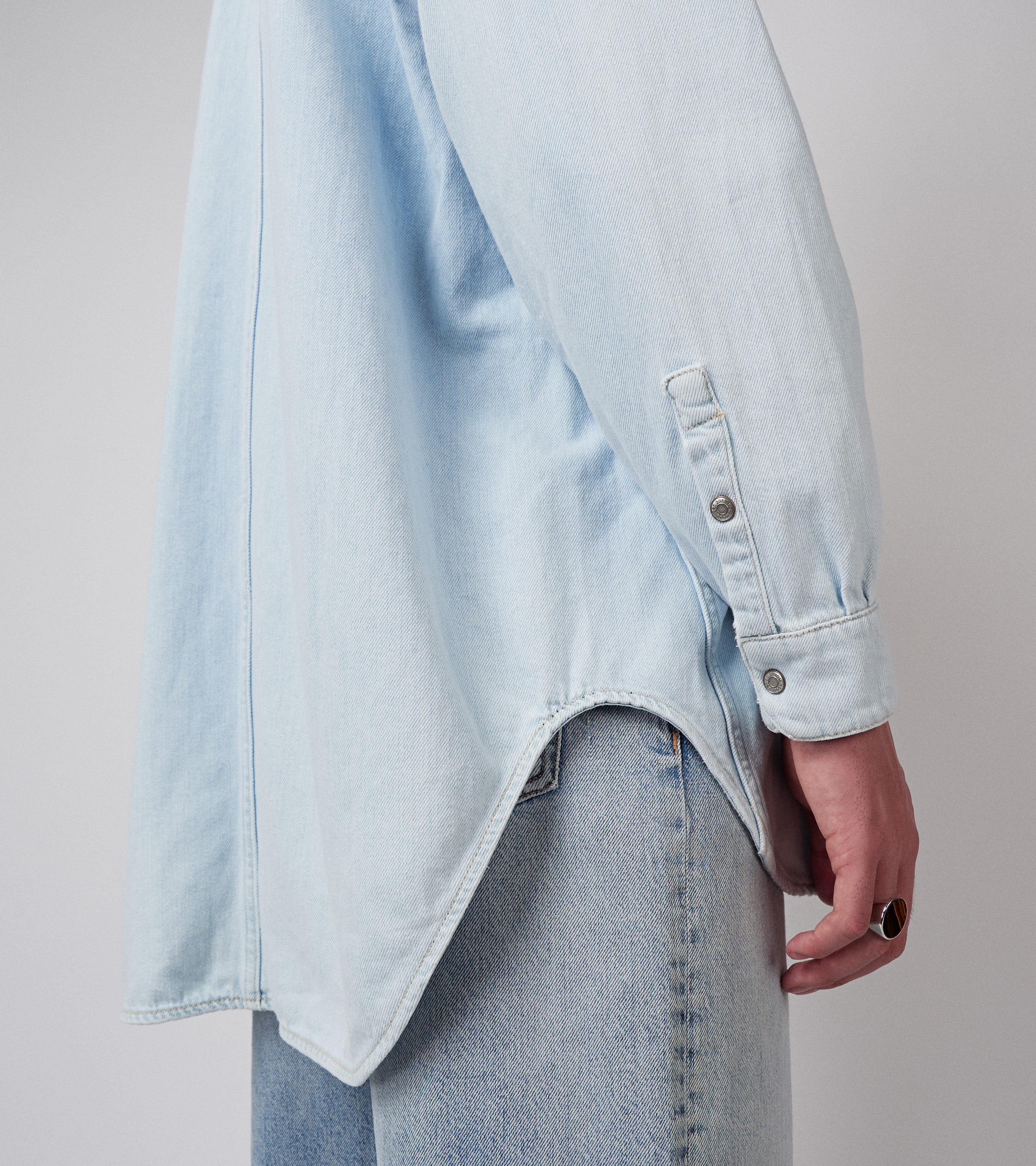 Kayne Shirt Sky Blue