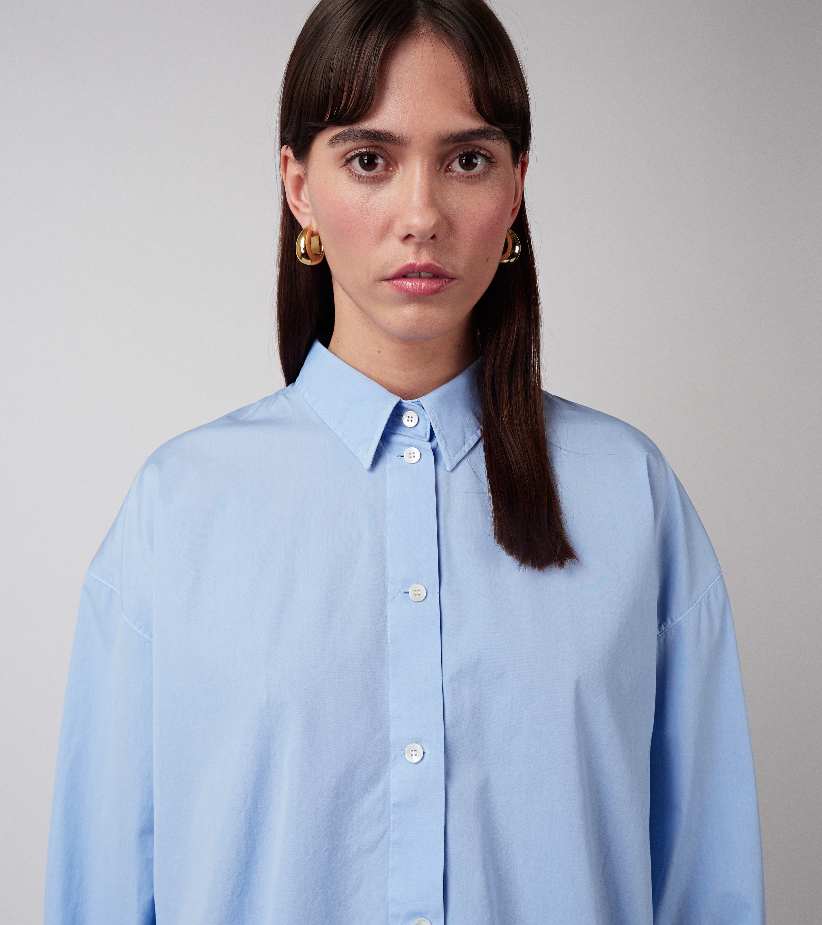 Kim Shirt Dust Blue