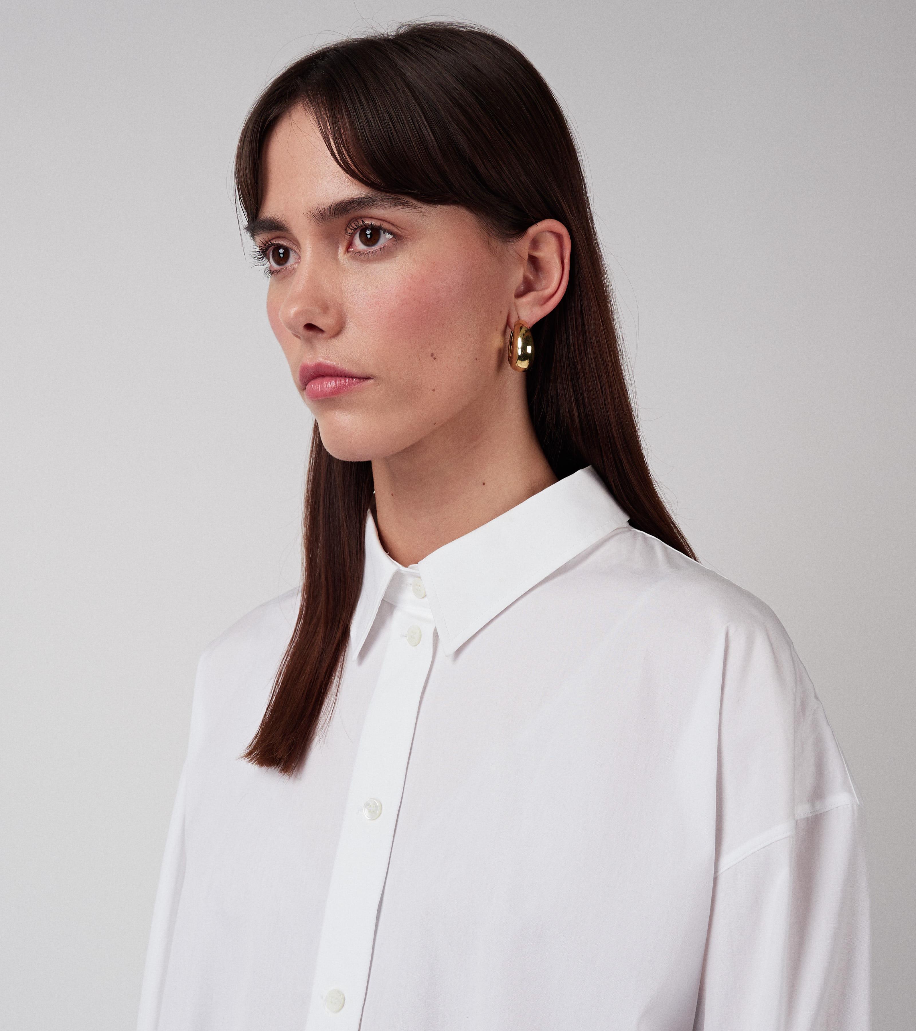 Kim Shirt Virgin White