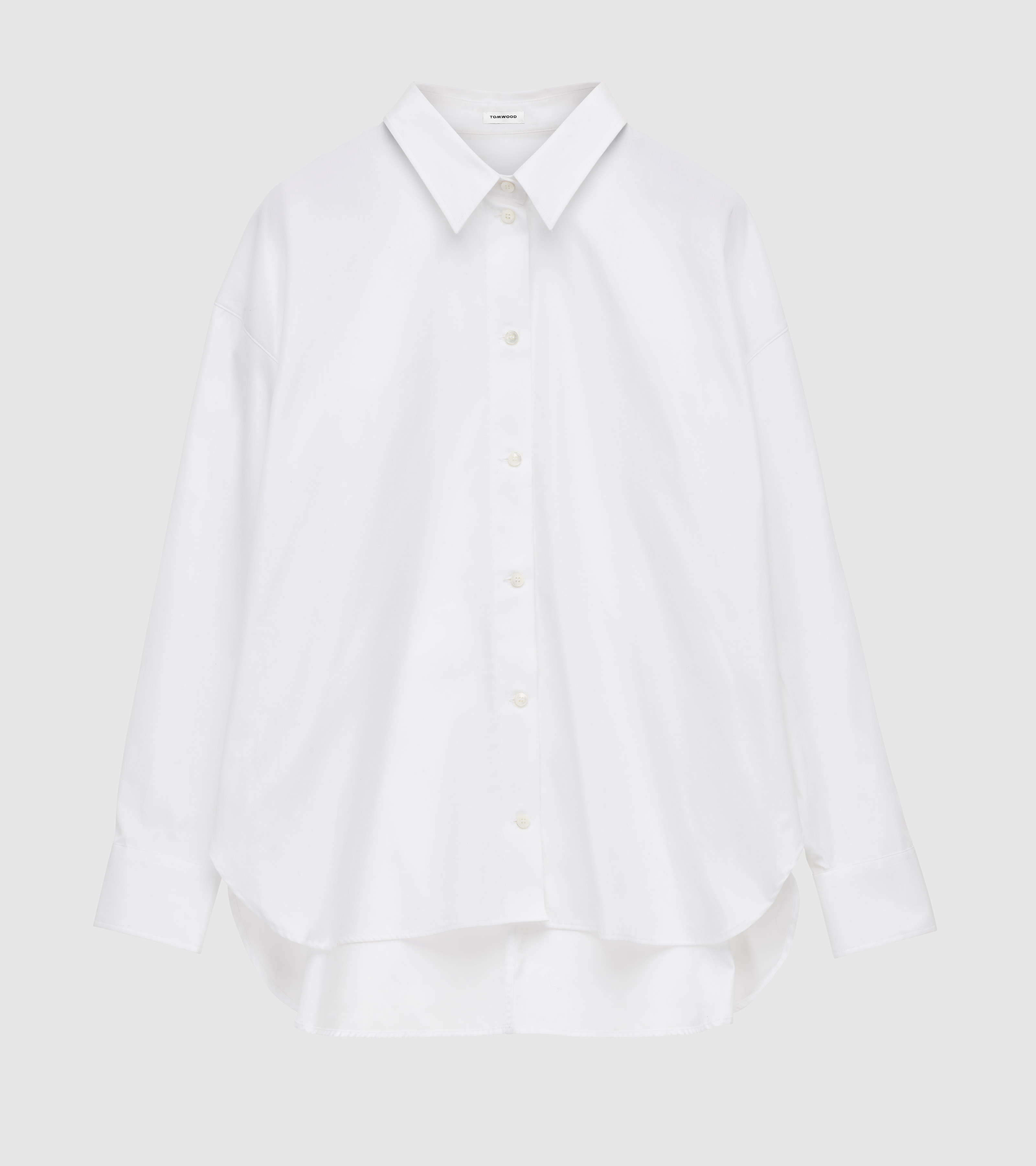 Kim Shirt Virgin White