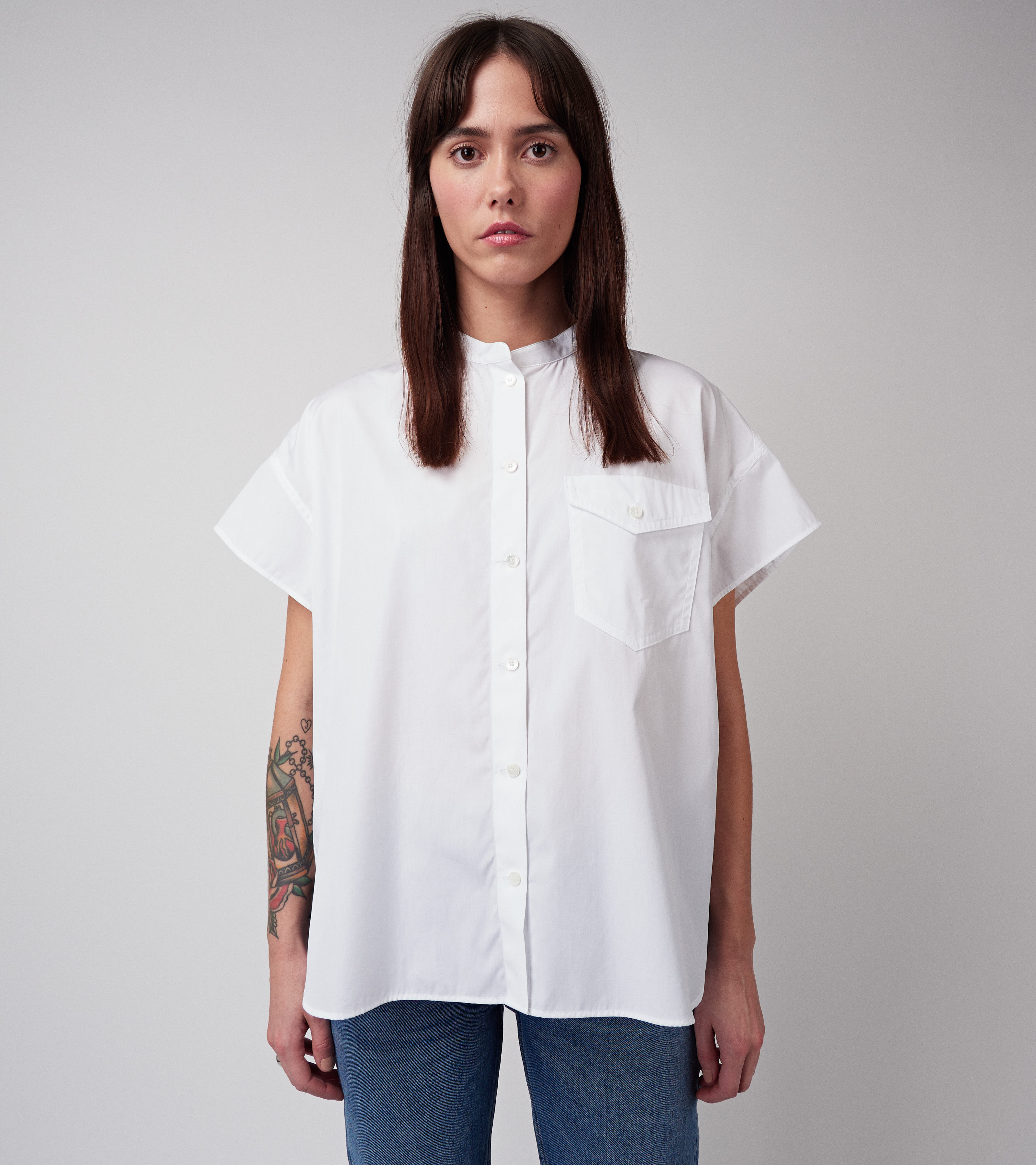 Kris Shirt Virgin White
