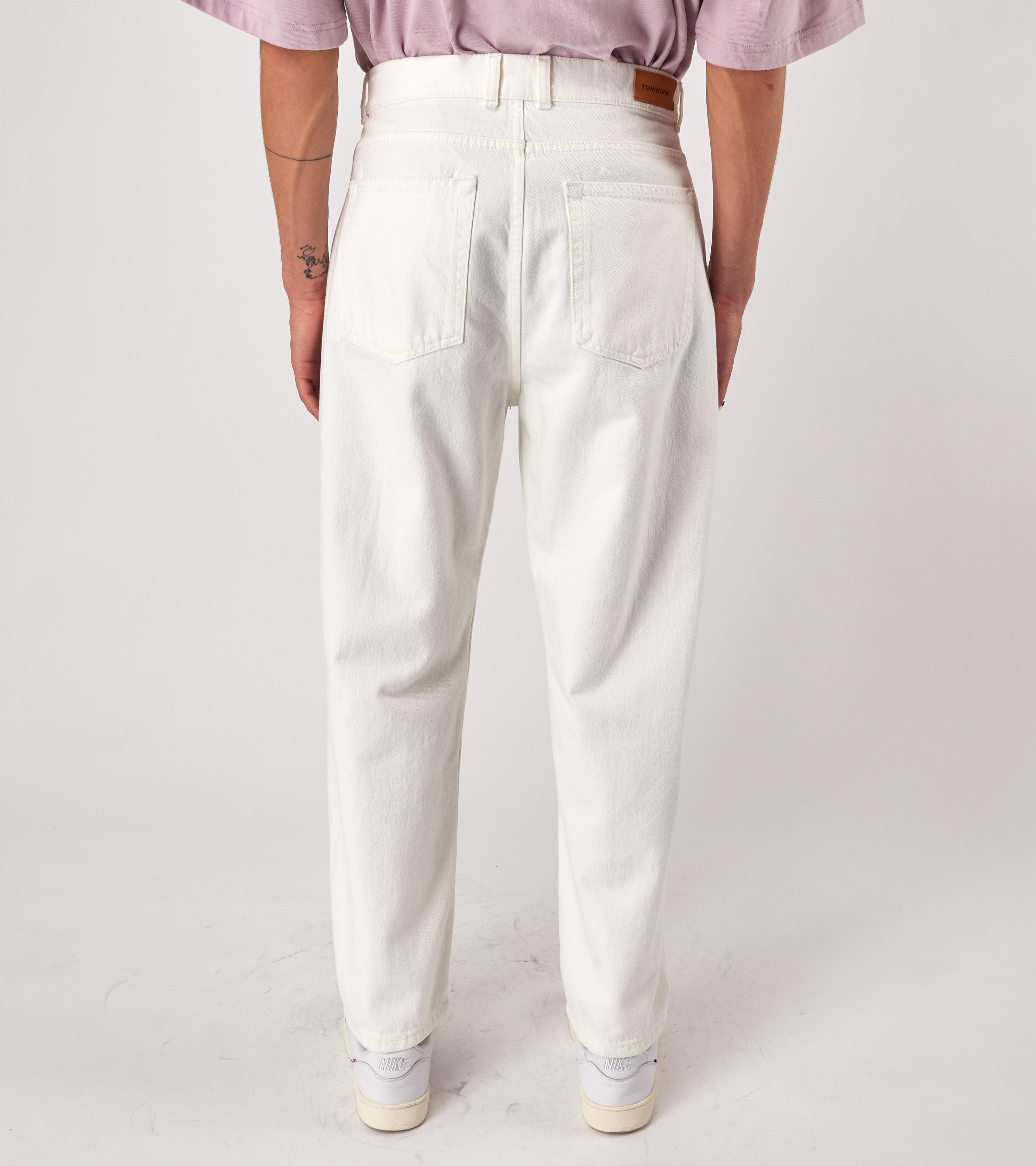 Loose Vintage White 100% Cotton