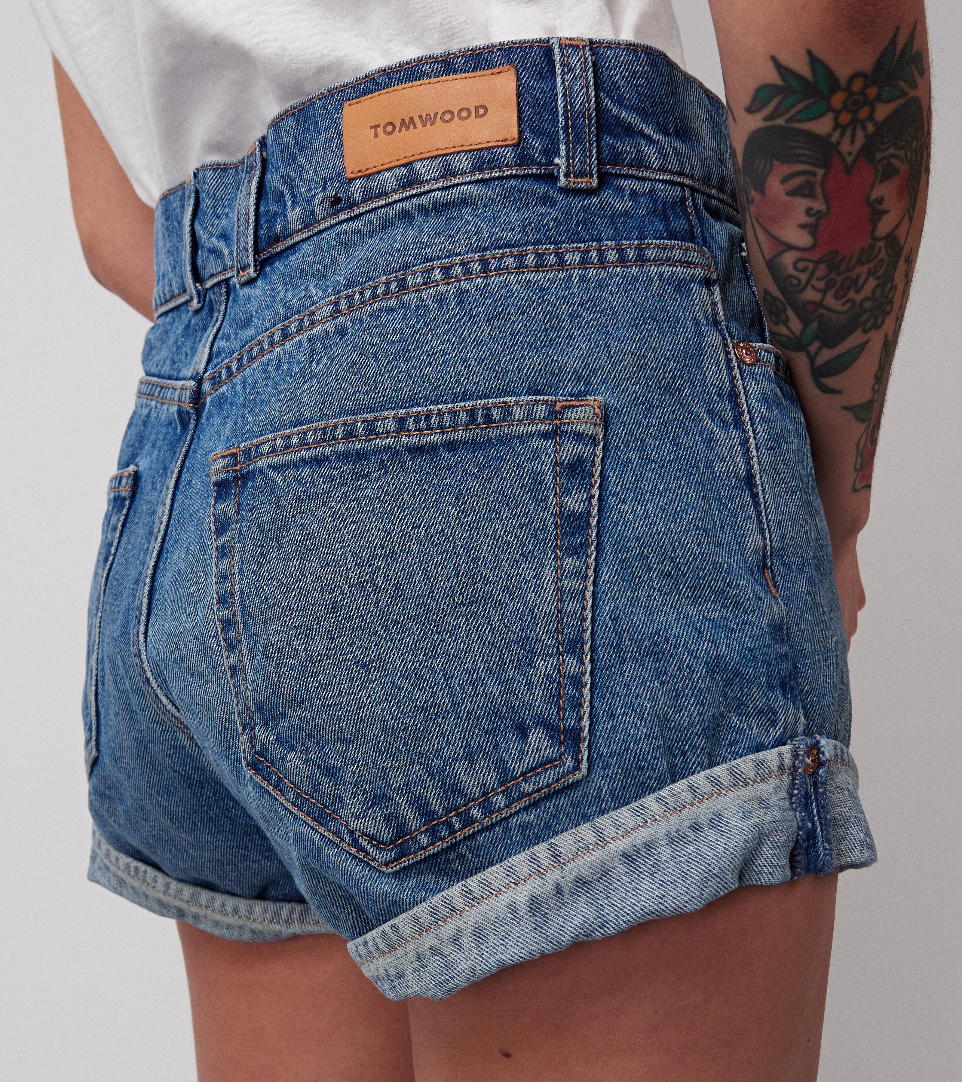 Mia Denim Shorts Nice Blue
