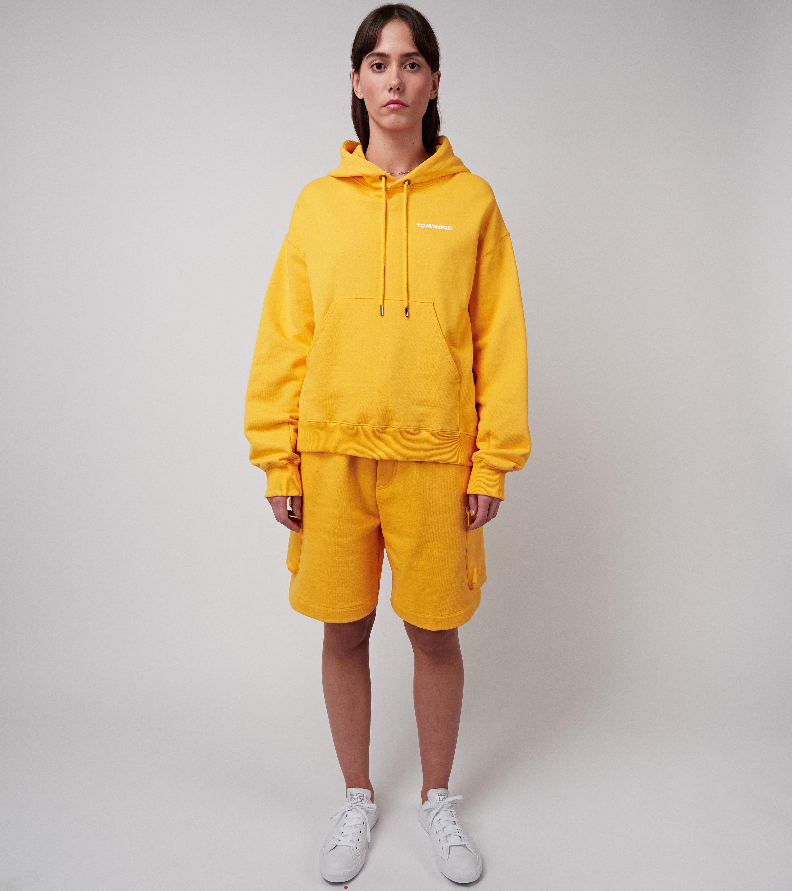 Mira Hoodie Mustard Shine