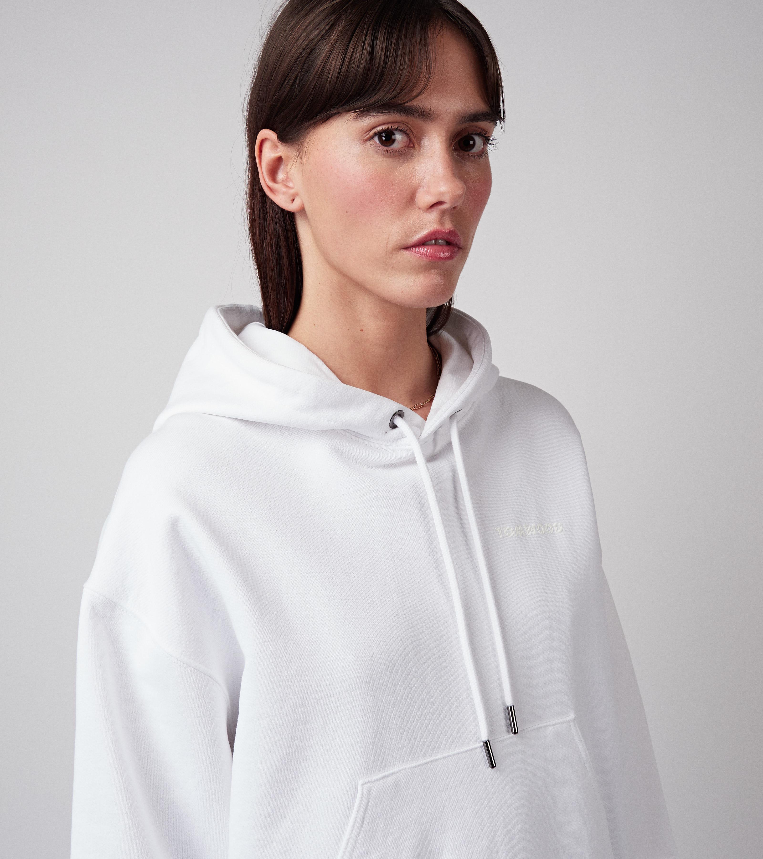 Mira Hoodie Virgin White