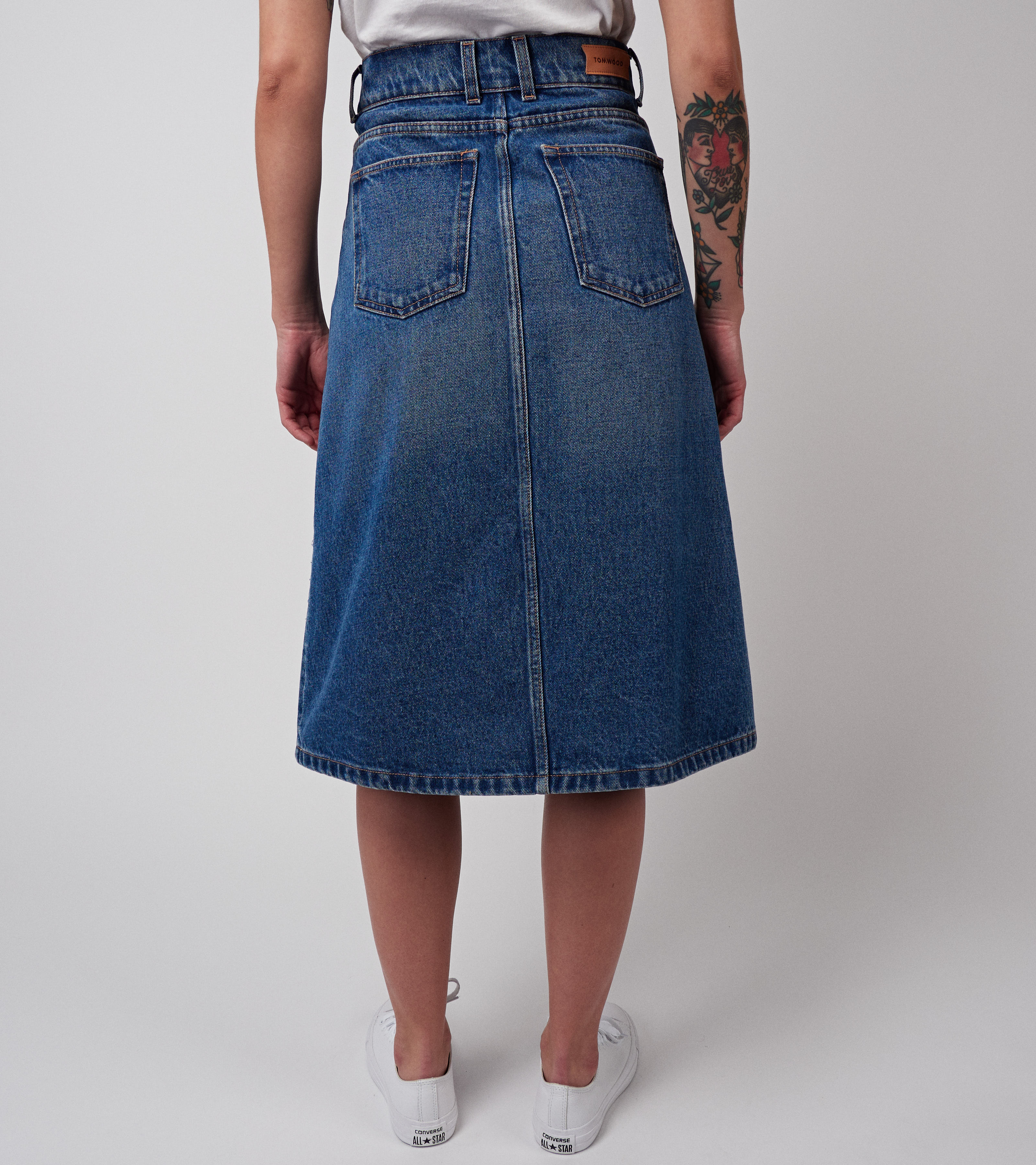 Miriam Denim Skirt Nice Blue