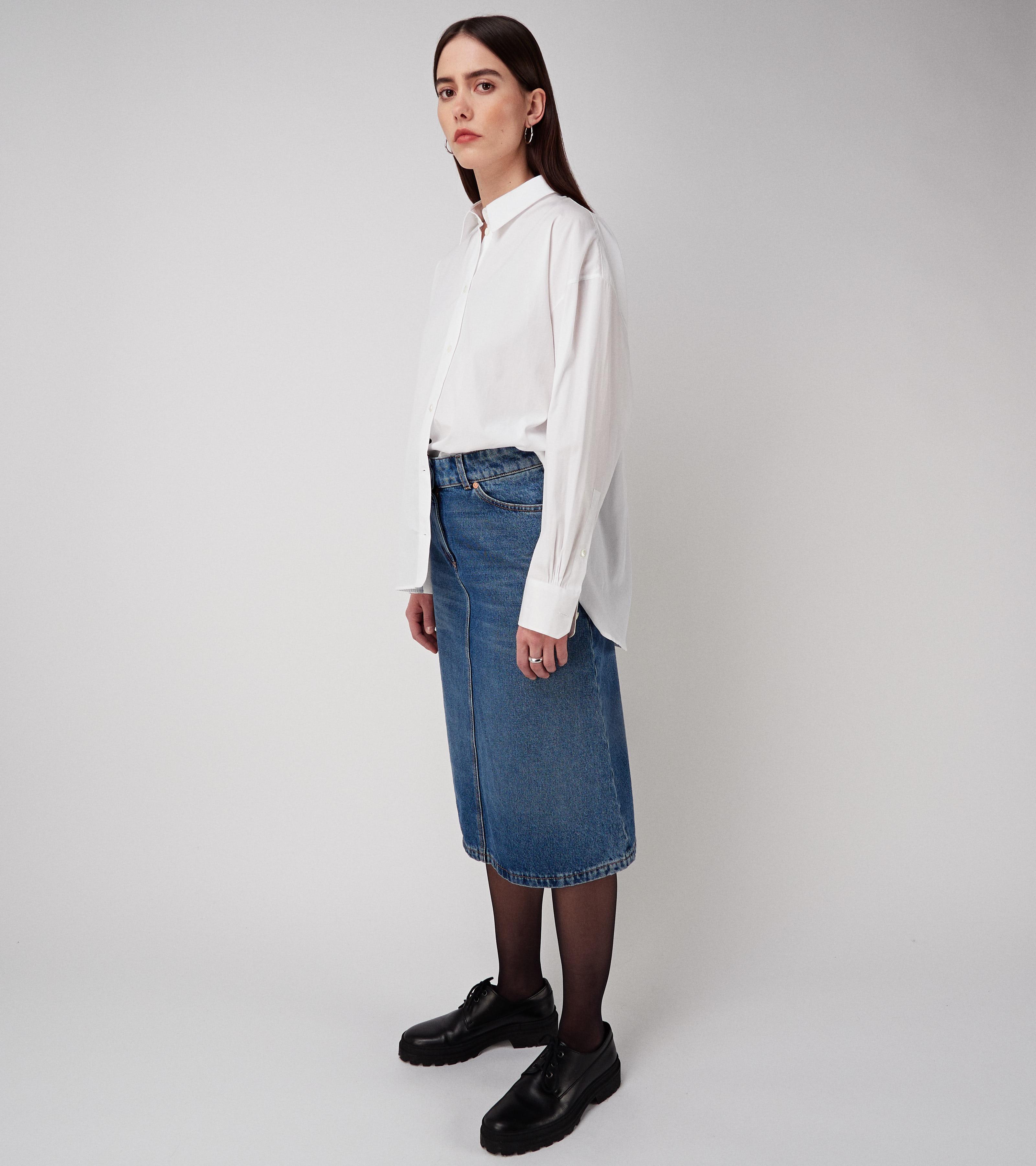 Miriam Denim Skirt Nice Blue