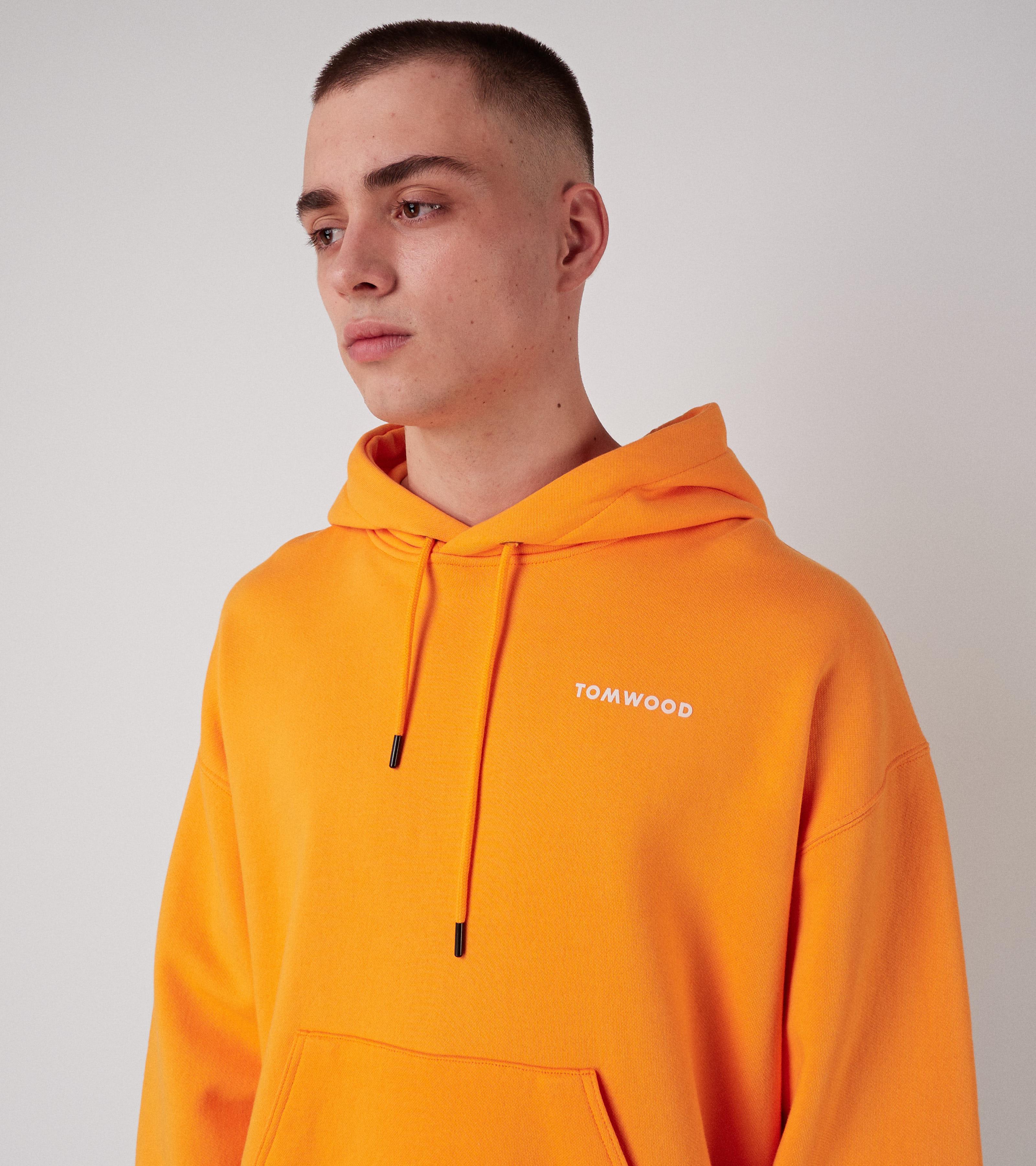 Neal Hoodie Orange