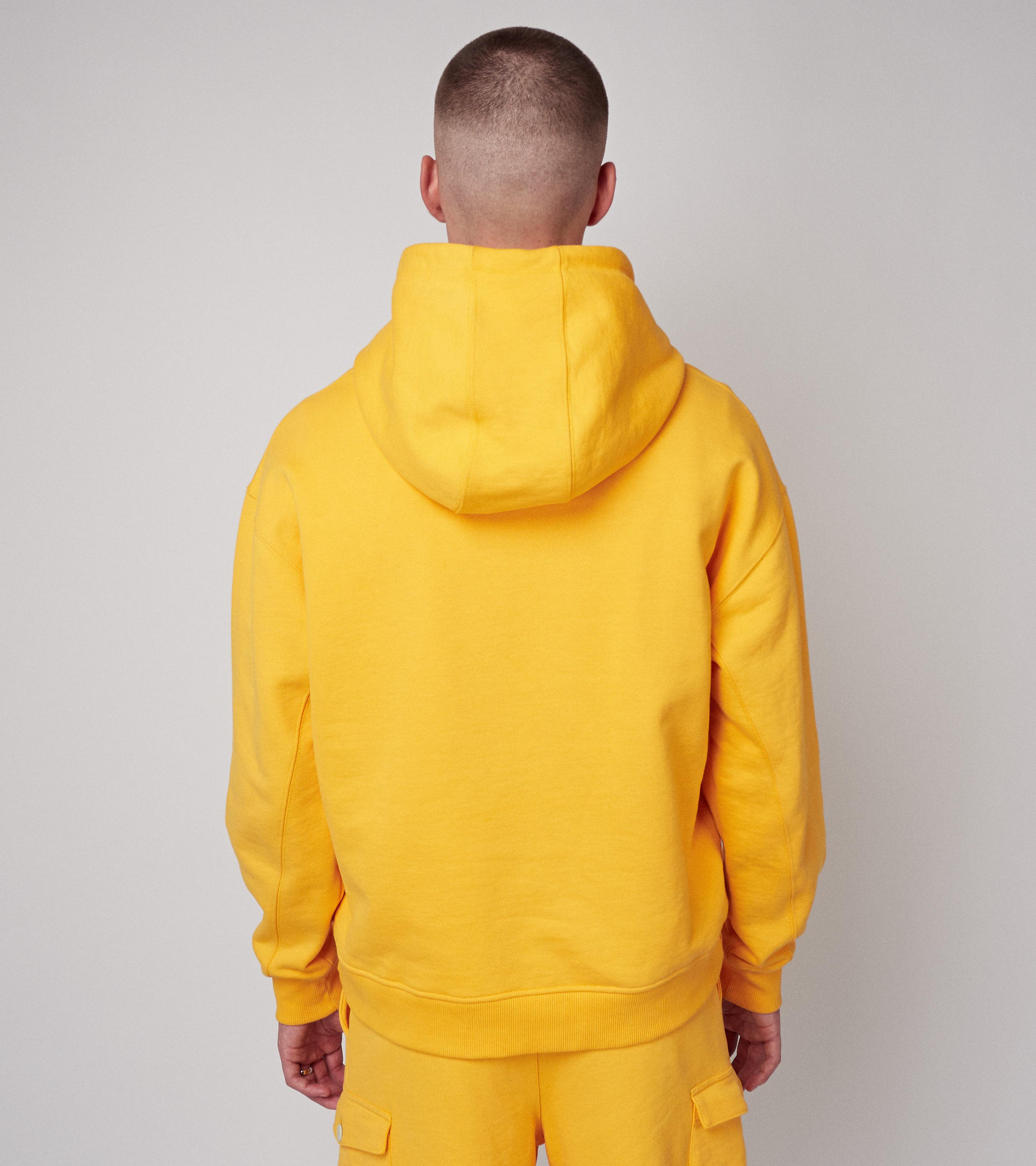 Neal Hoodie Mustard Shine
