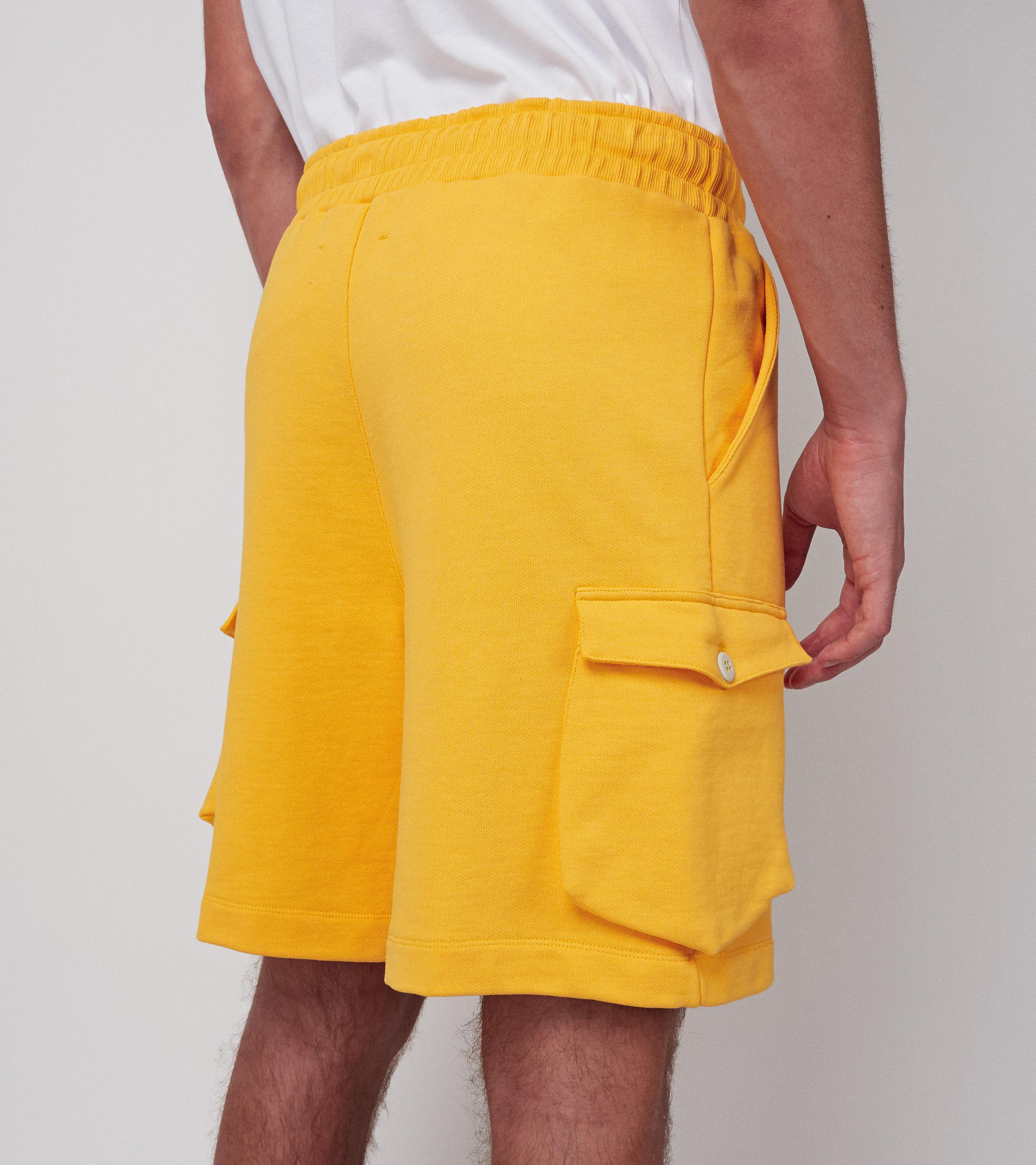 Neal Shorts Mustard Shine