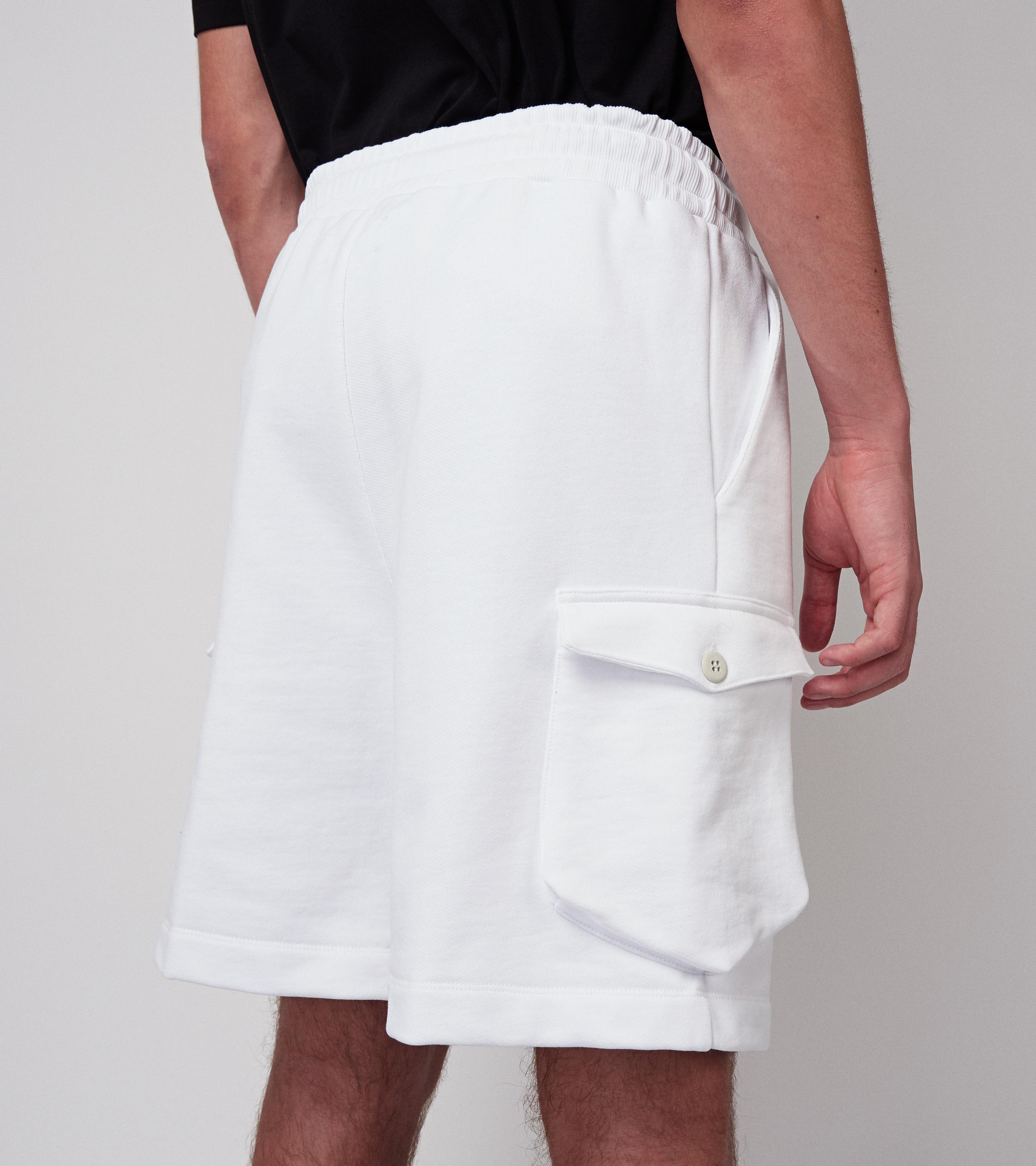 Neal Shorts Virgin White