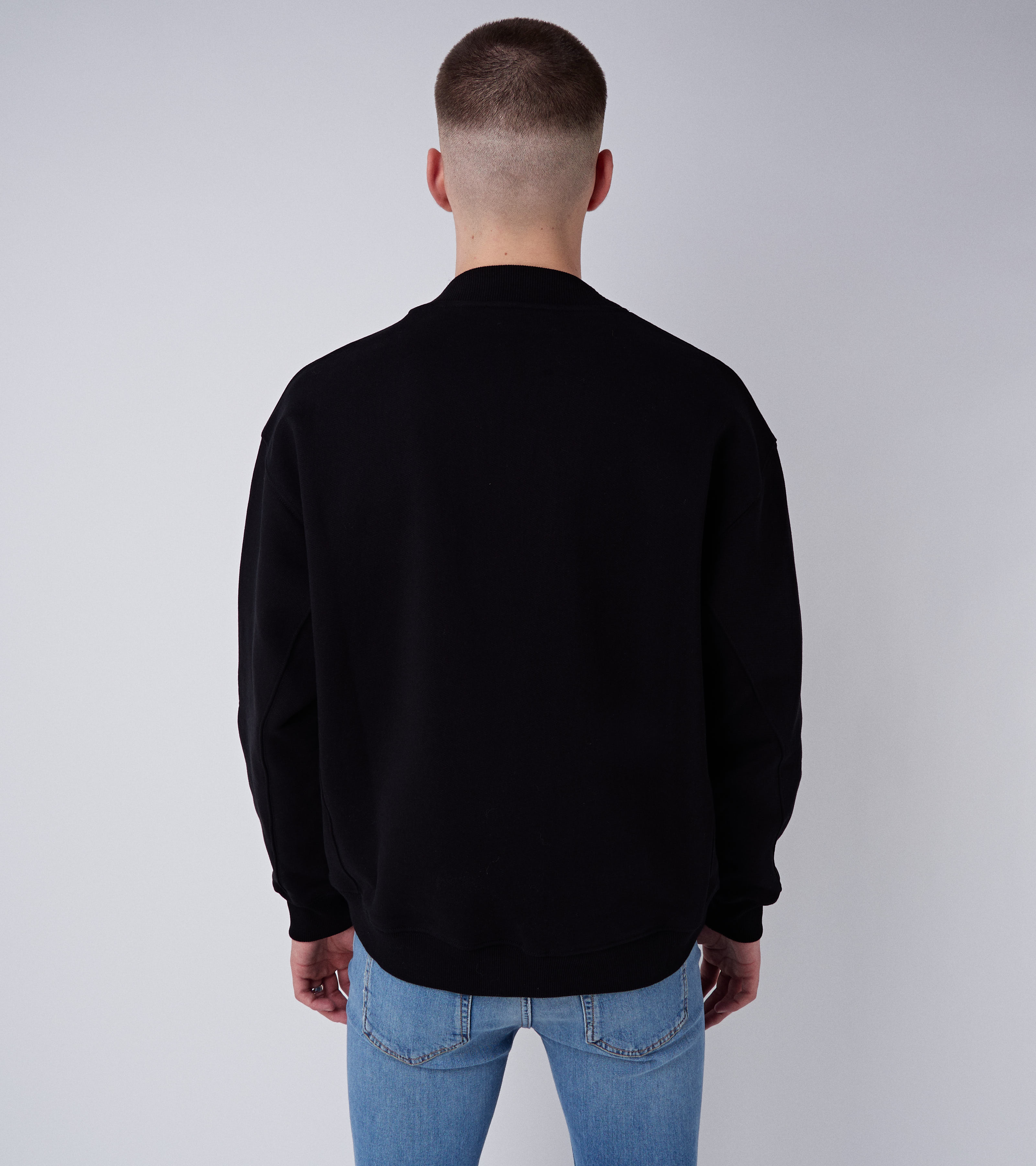 Neal Sweater Pistol Black