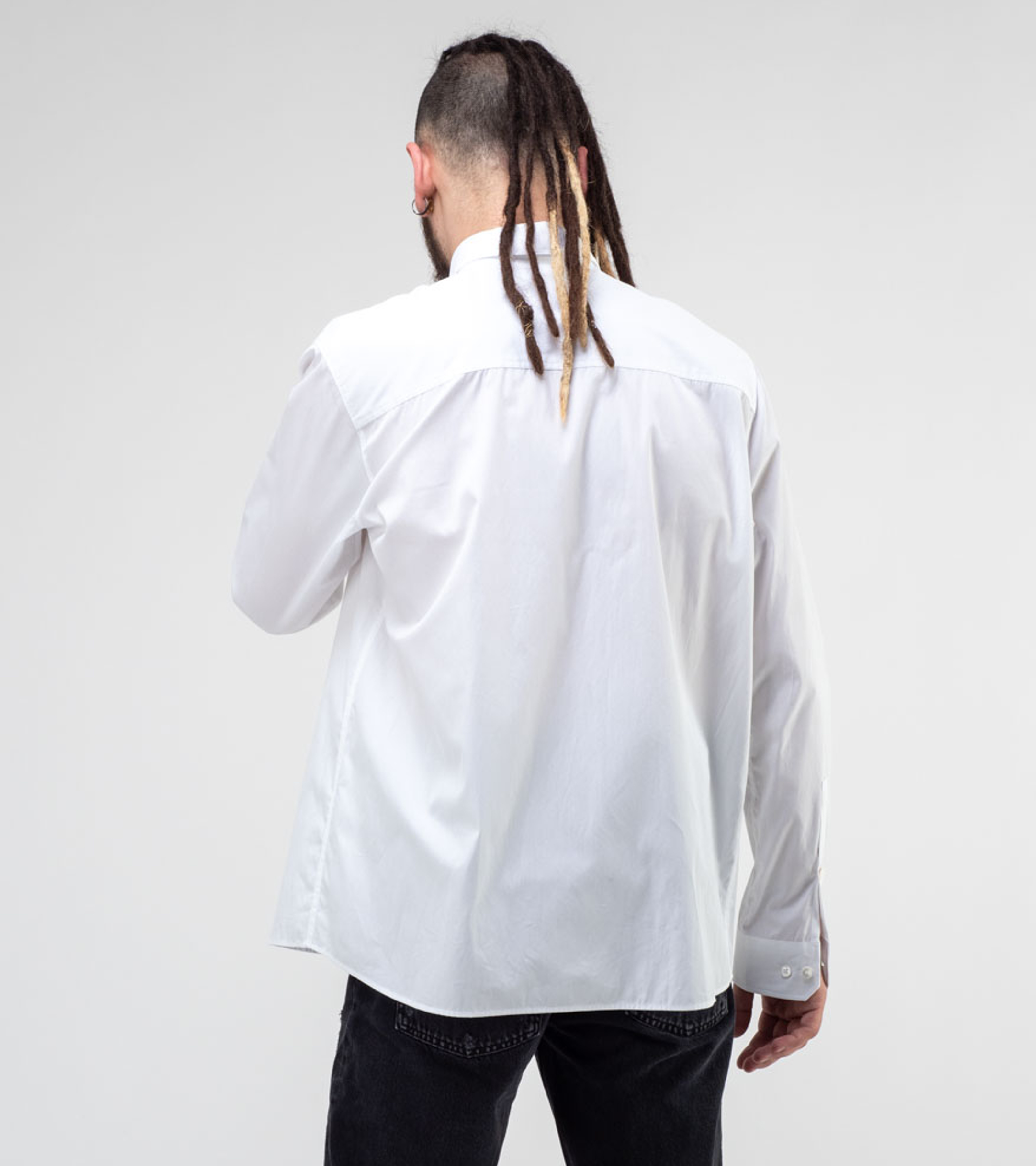Poplin Shirt M White