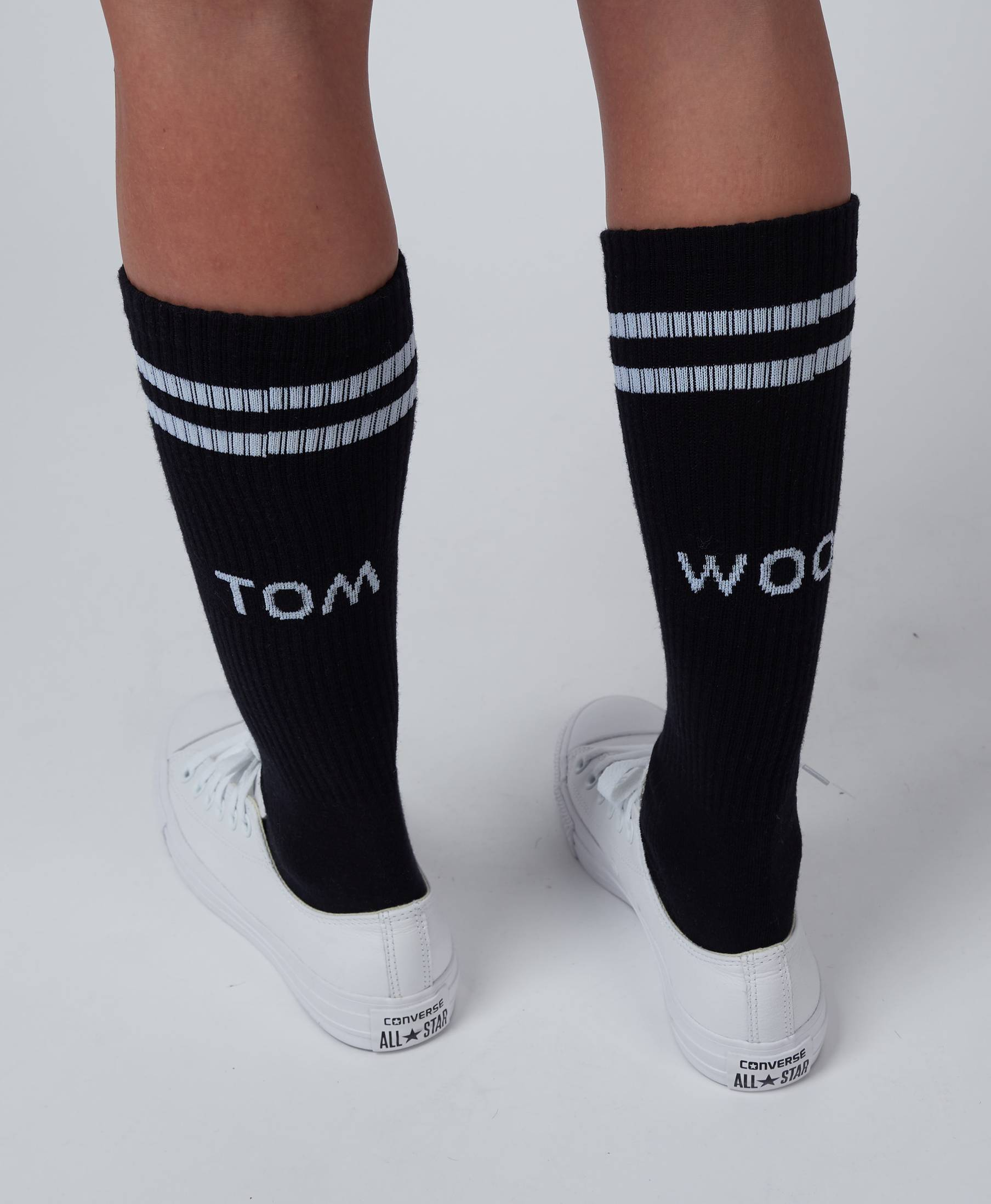 Tom Wood Sock Black