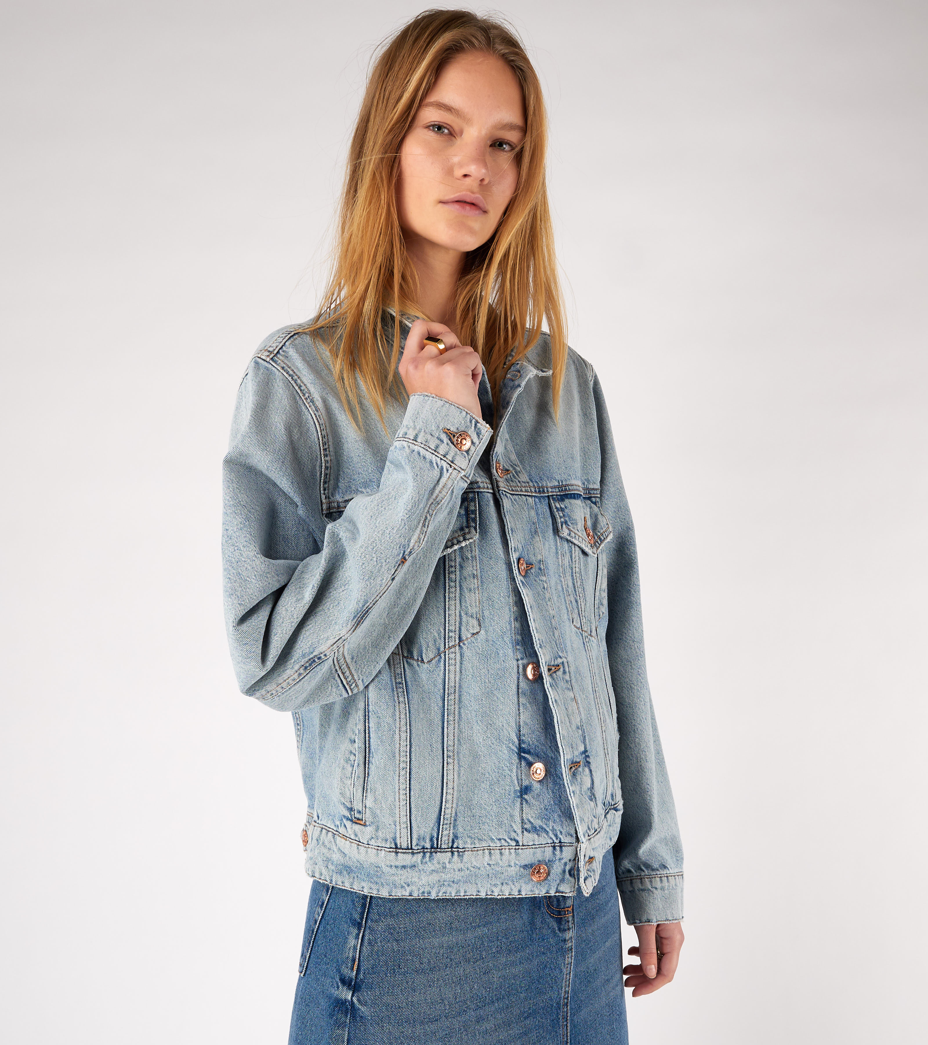 Trucker Jacket Beach Worn