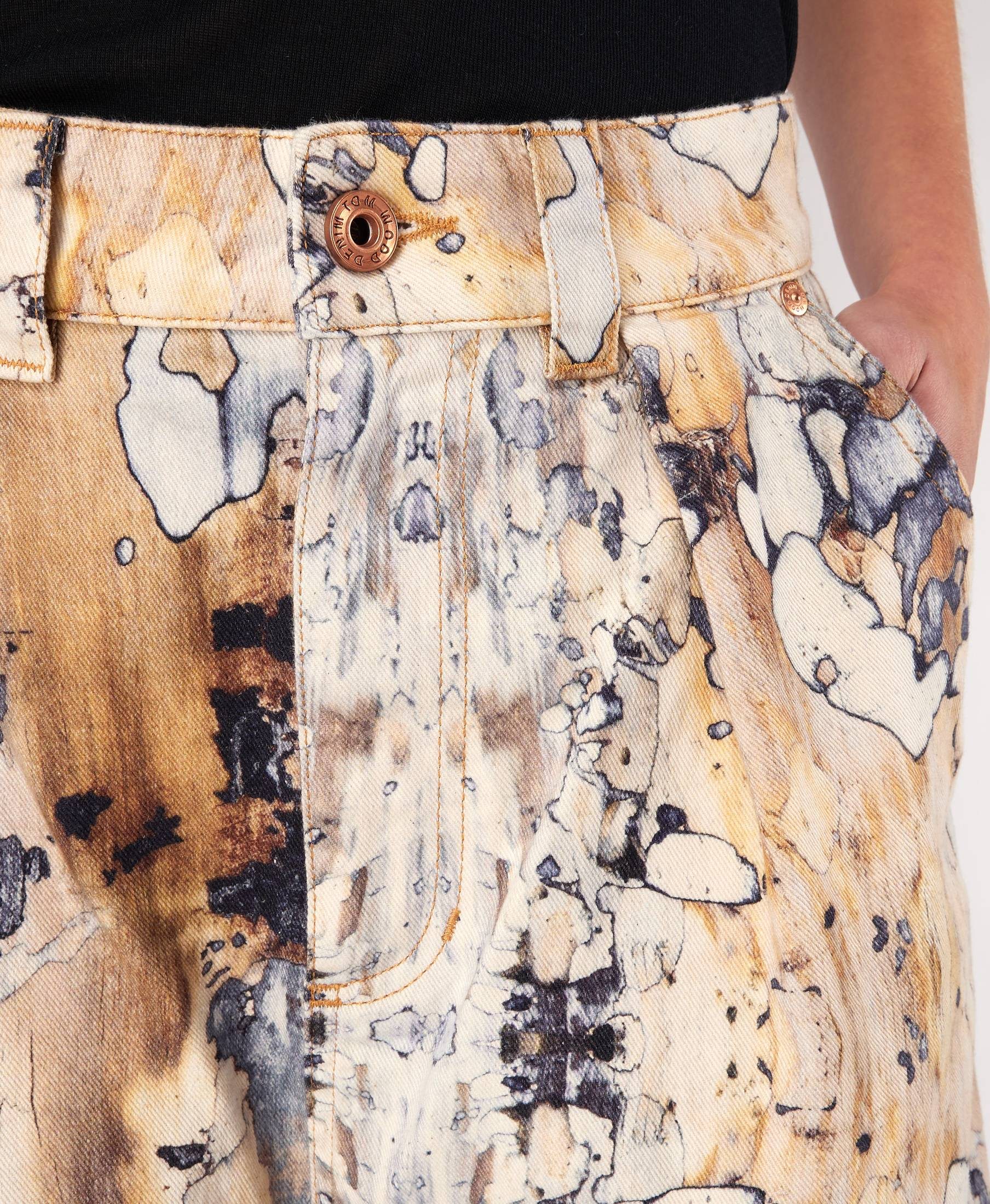 Vanessa Pants Earthy Marble