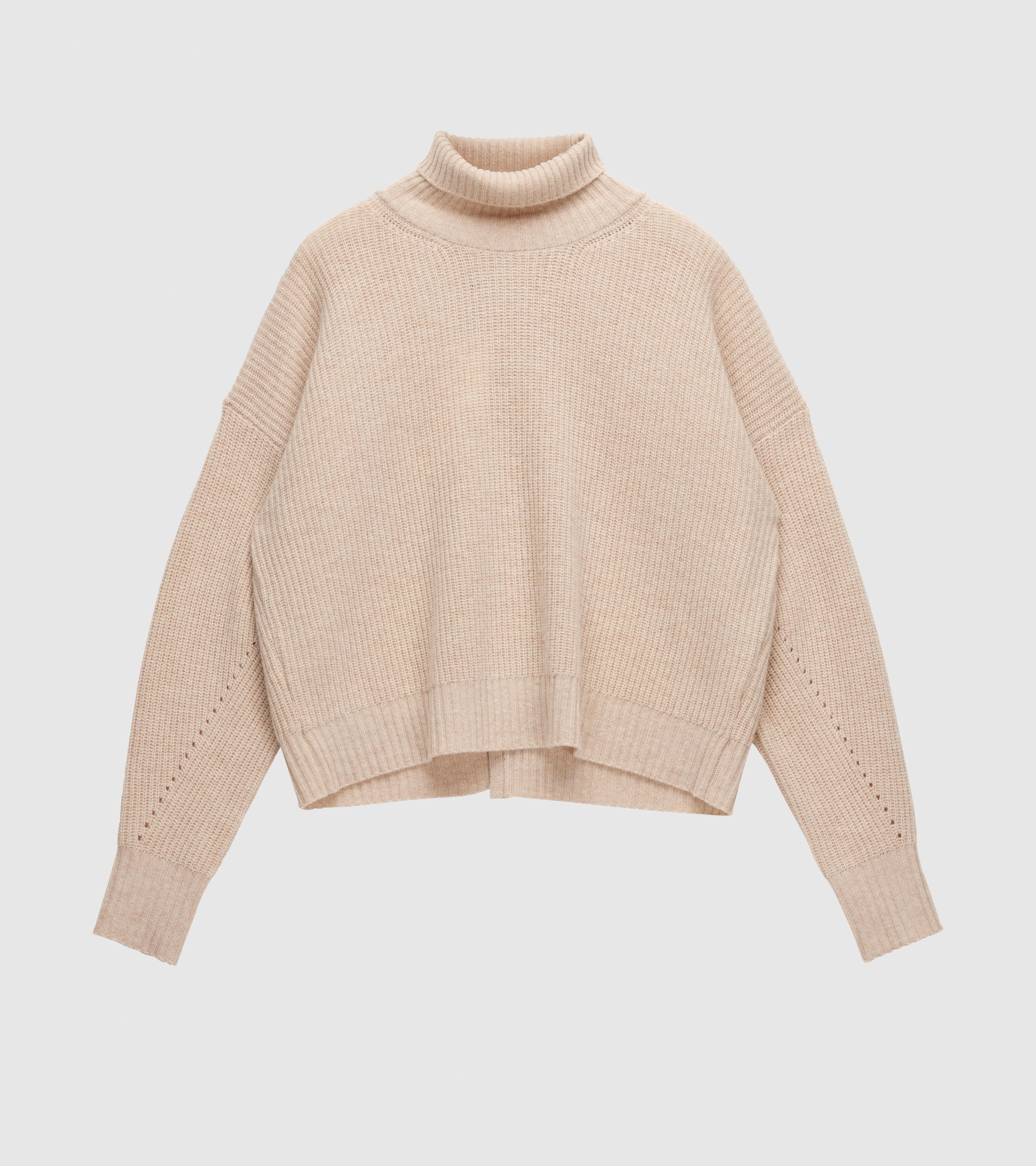 Kara Turtle Sweater Cream