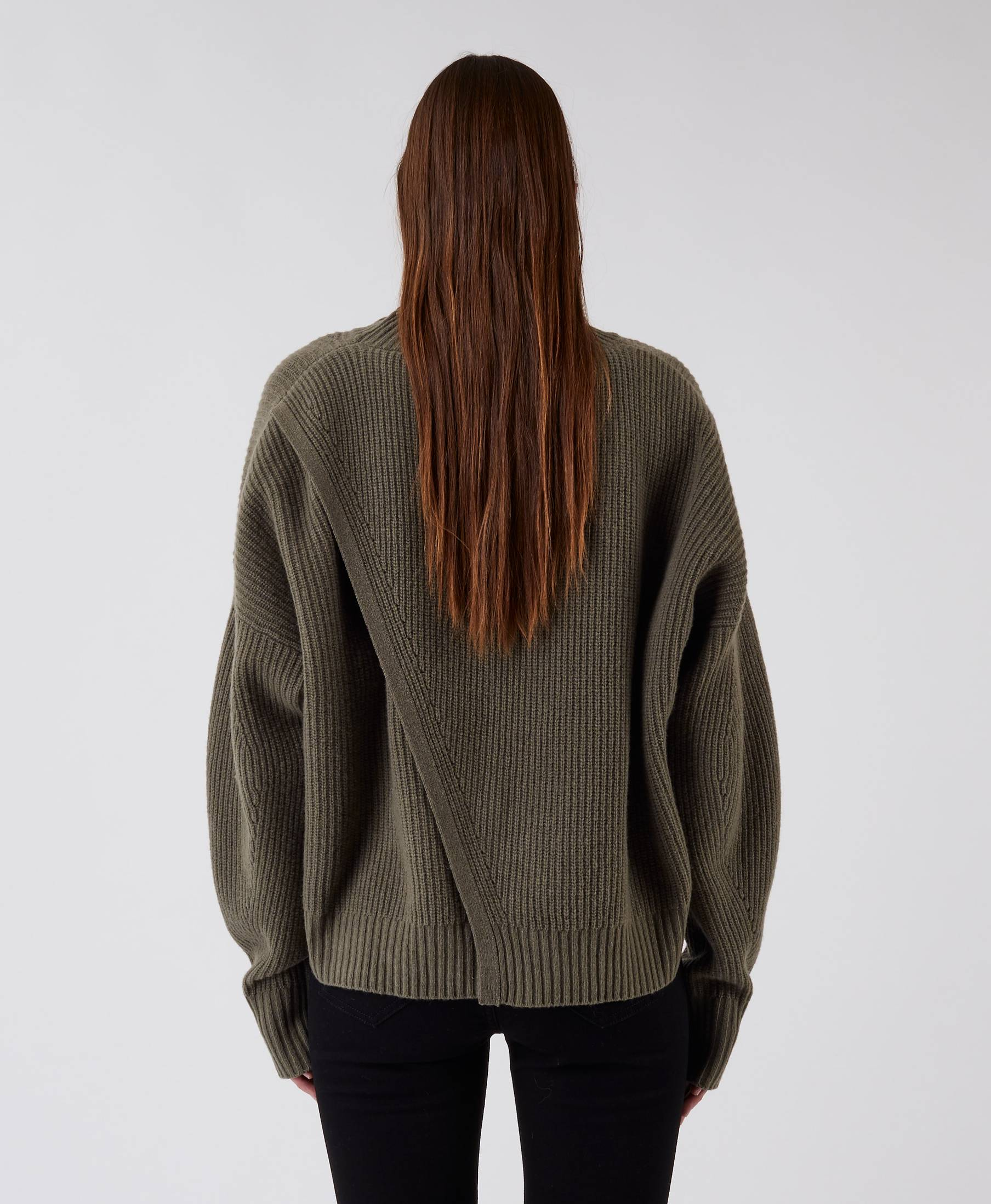 Kara Turtle Sweater Pale Pine