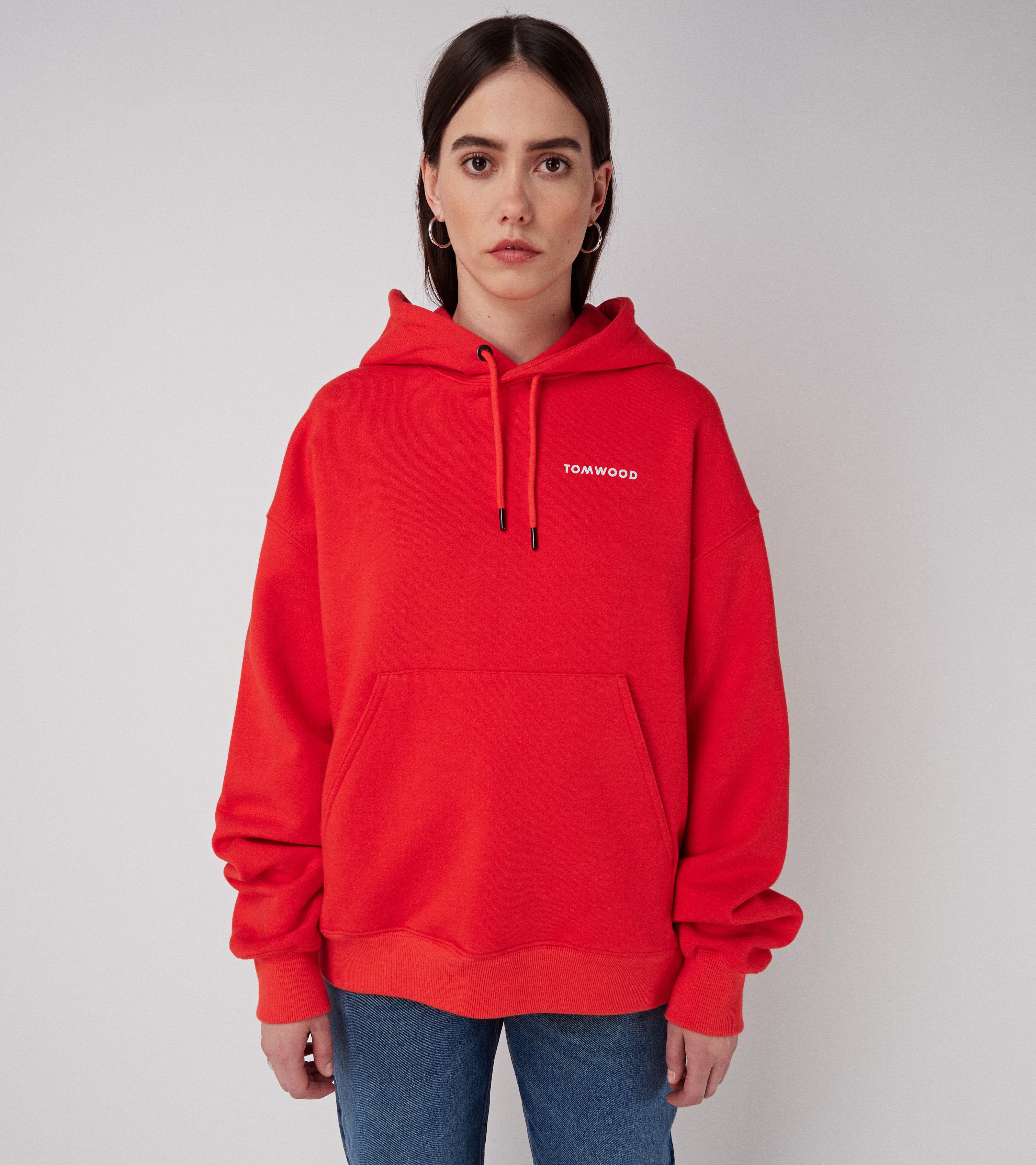 Mira Hoodie Red