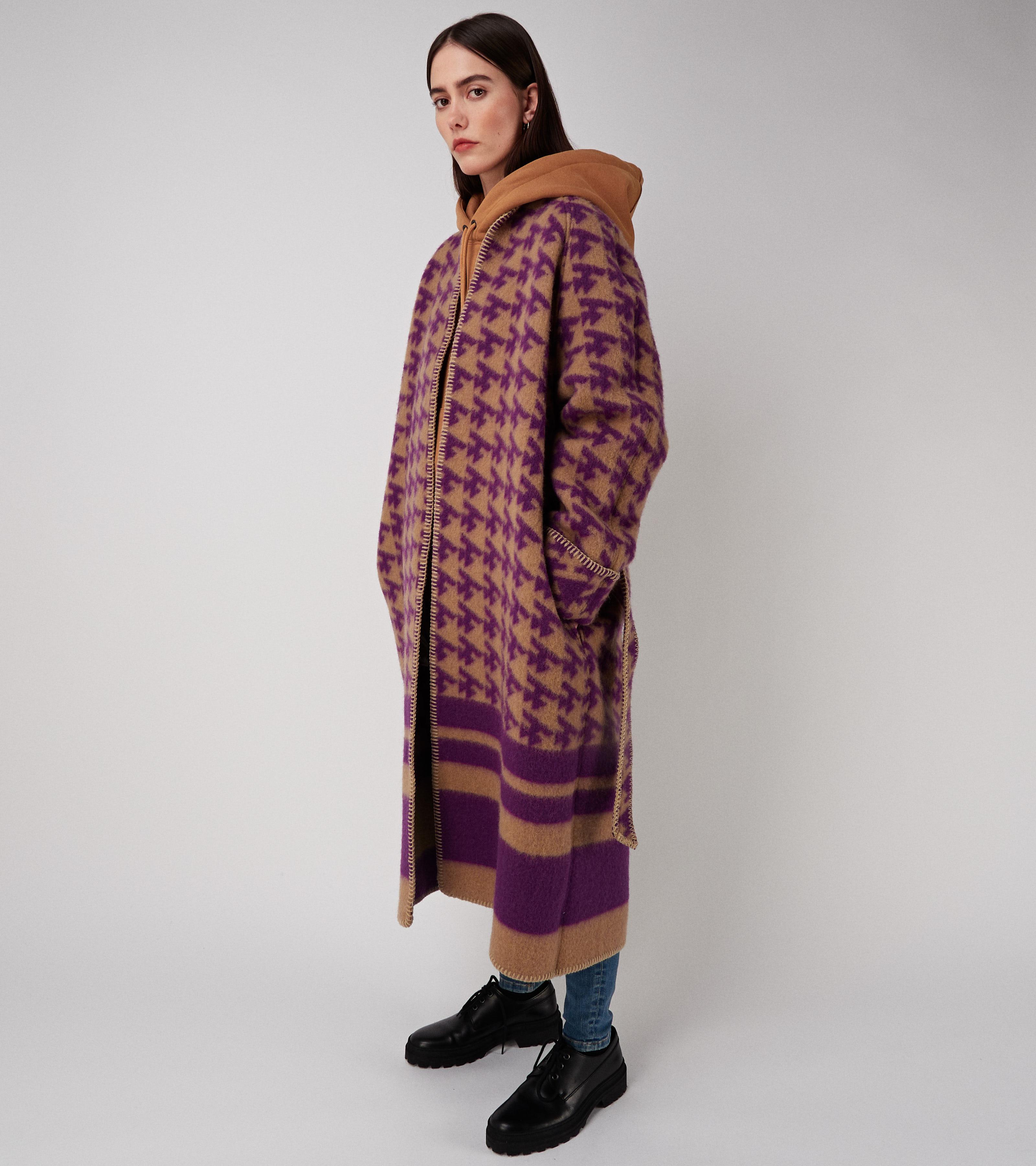 Vilja Coat Purple