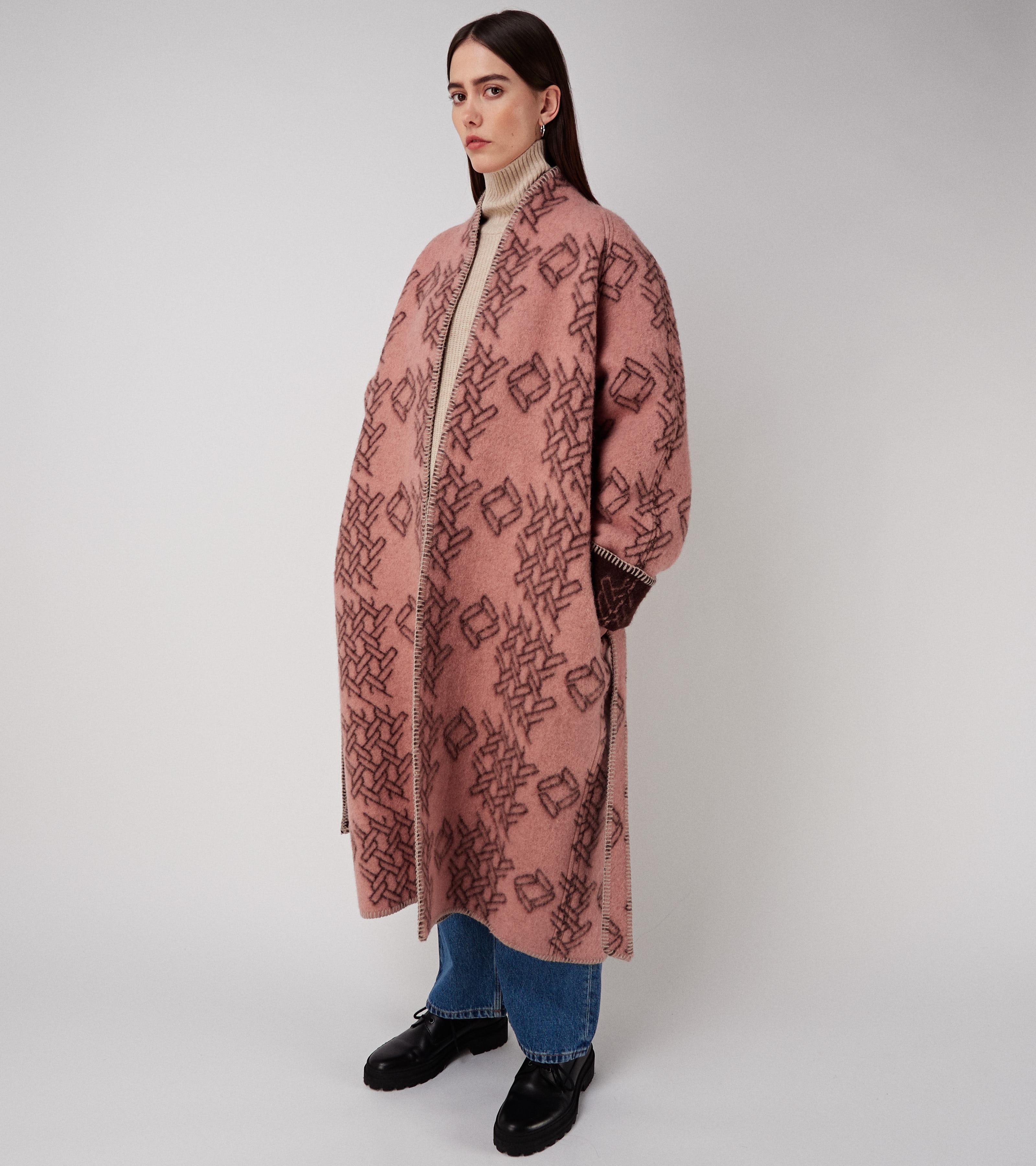 Vilja Coat Pink
