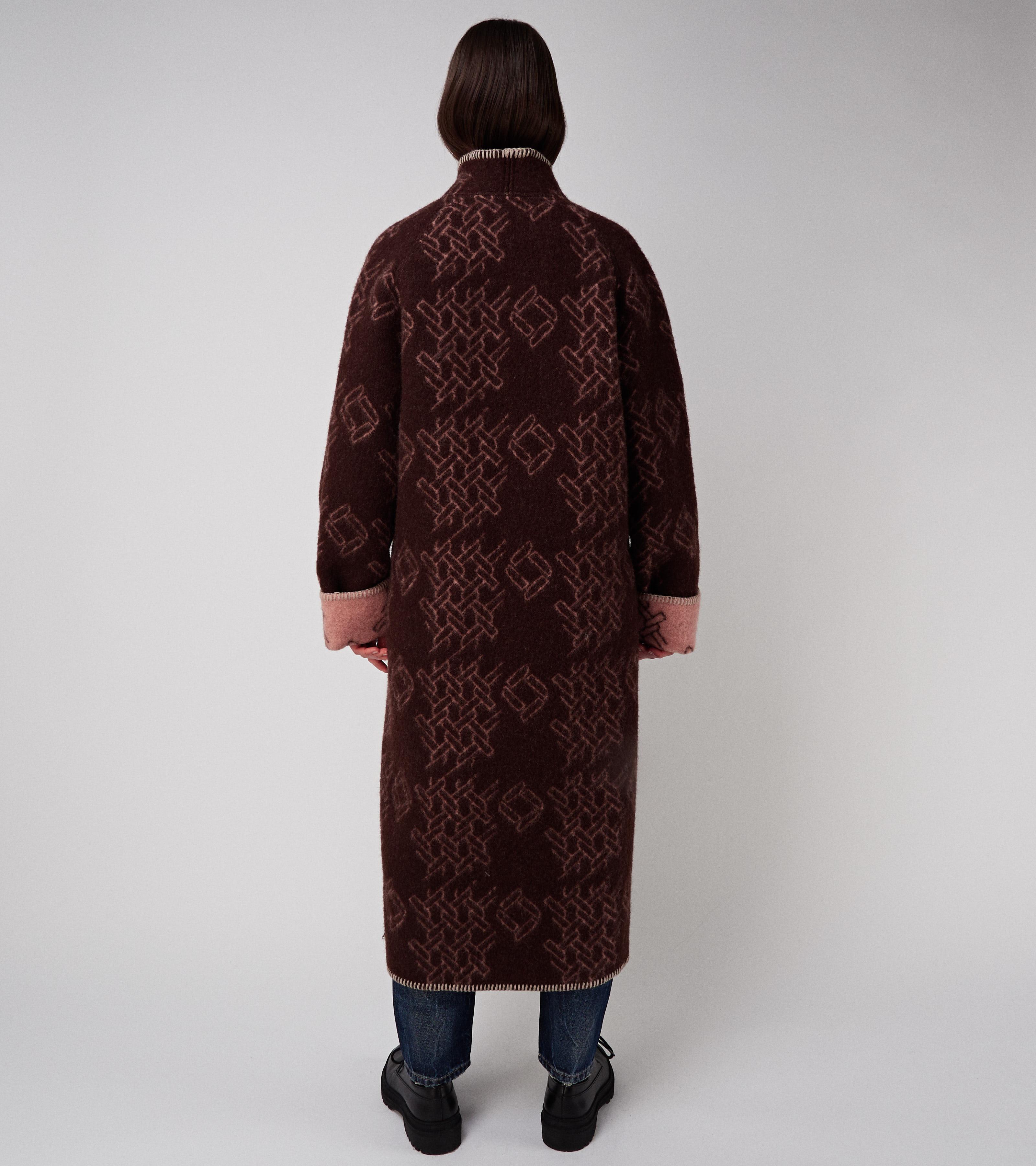 Vilja Coat Brown