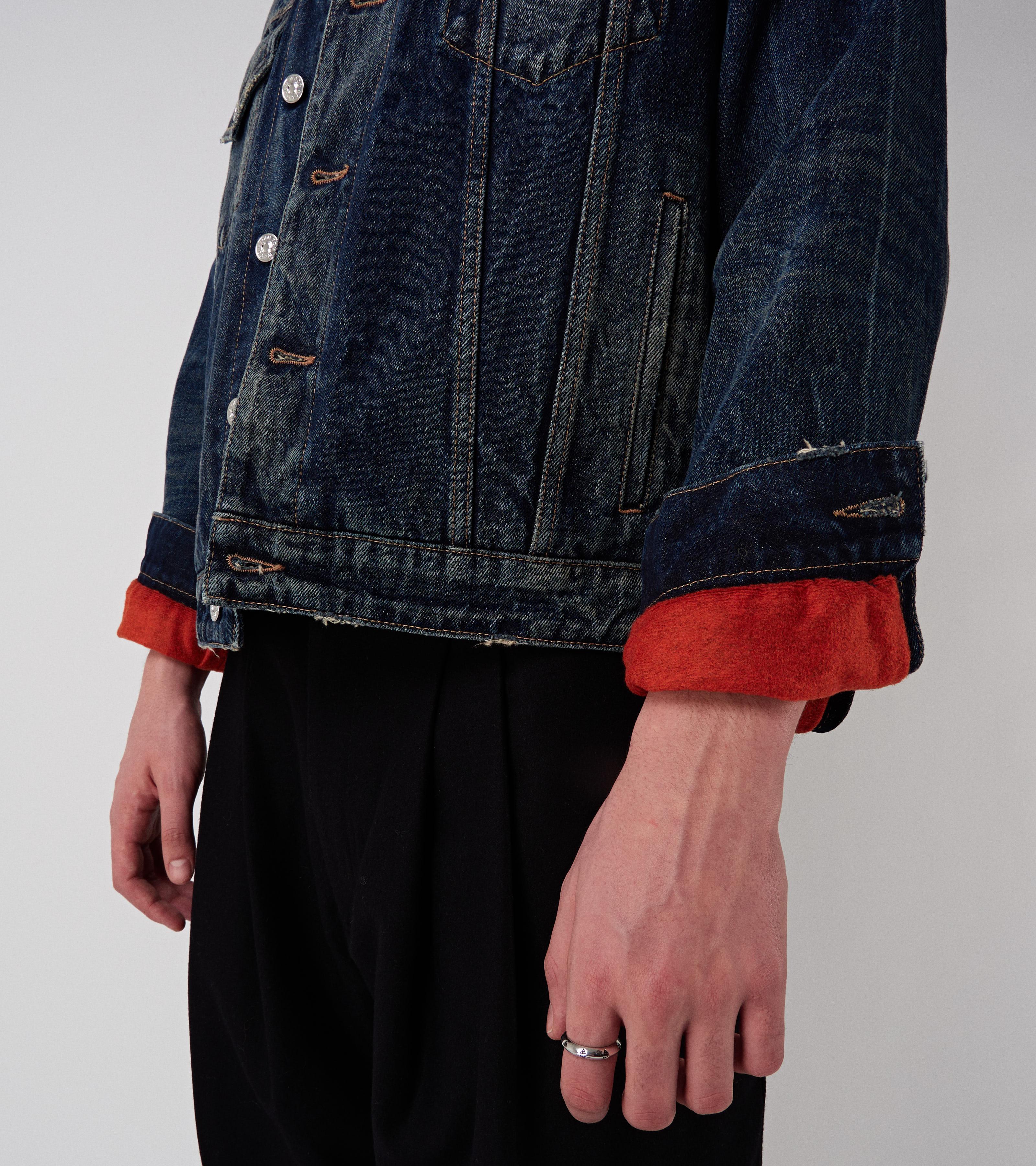 Trucker Jacket Wool Studio Worn
