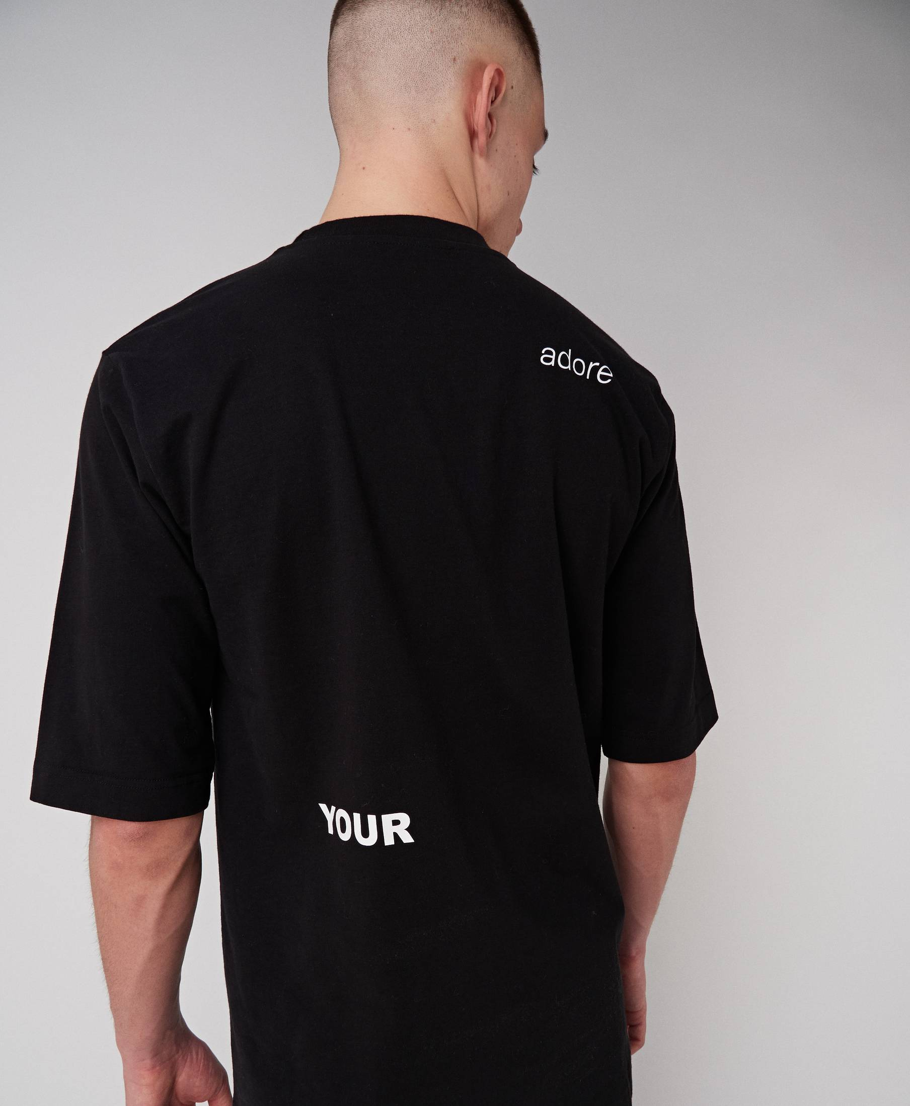 Imperfection Comfy Tee Pitch Black