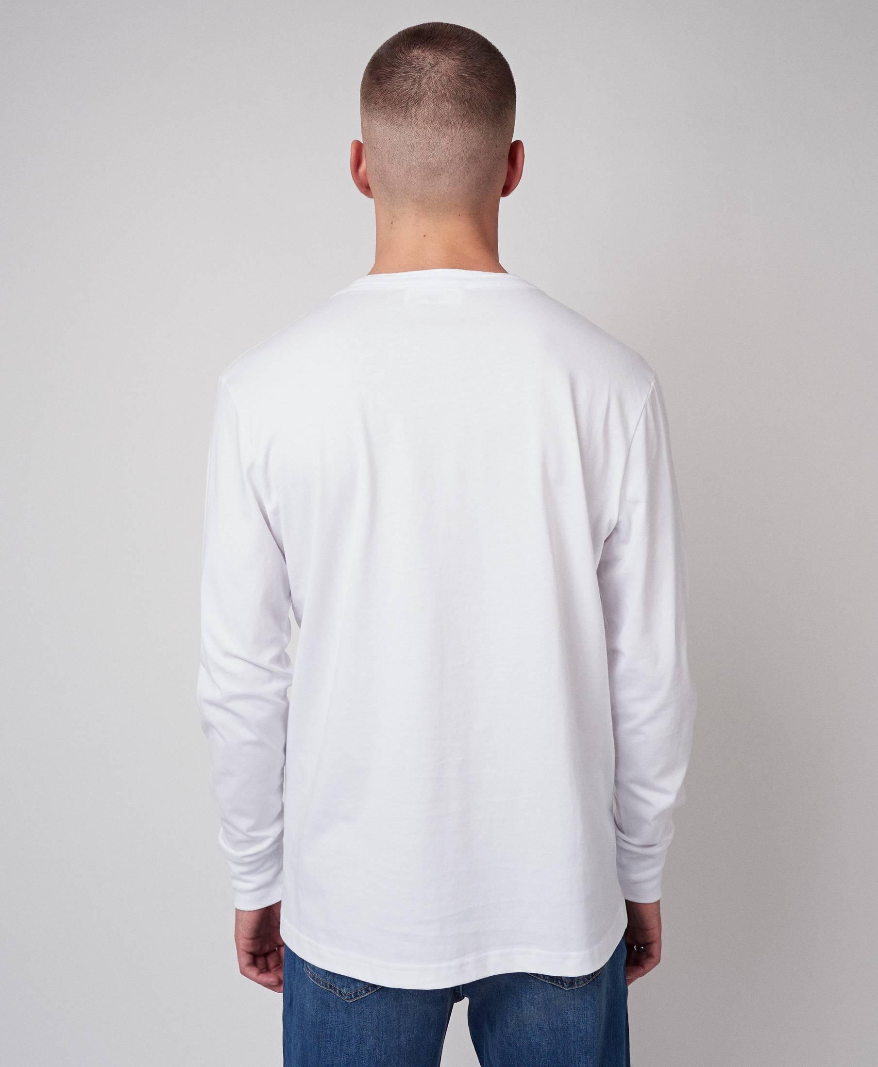 Dan Long Sleeve Virgin White